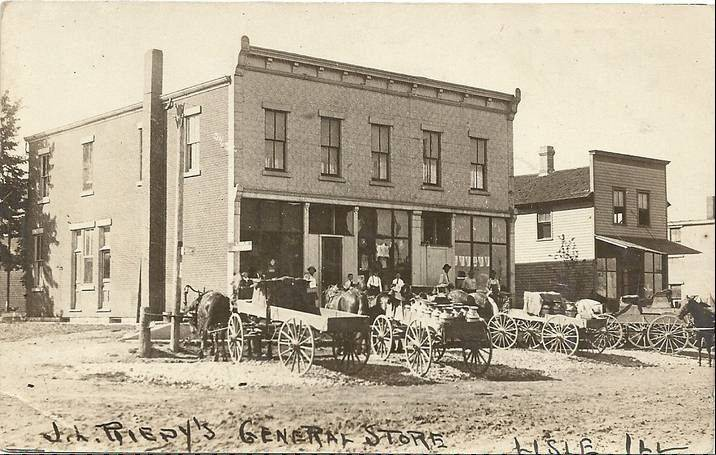 Reidy's General Store on Front Street also served as Lisle's post office before it burned down in 1939, said Marilyn Cawiezel, a founding member of the Lisle Heritage Society.