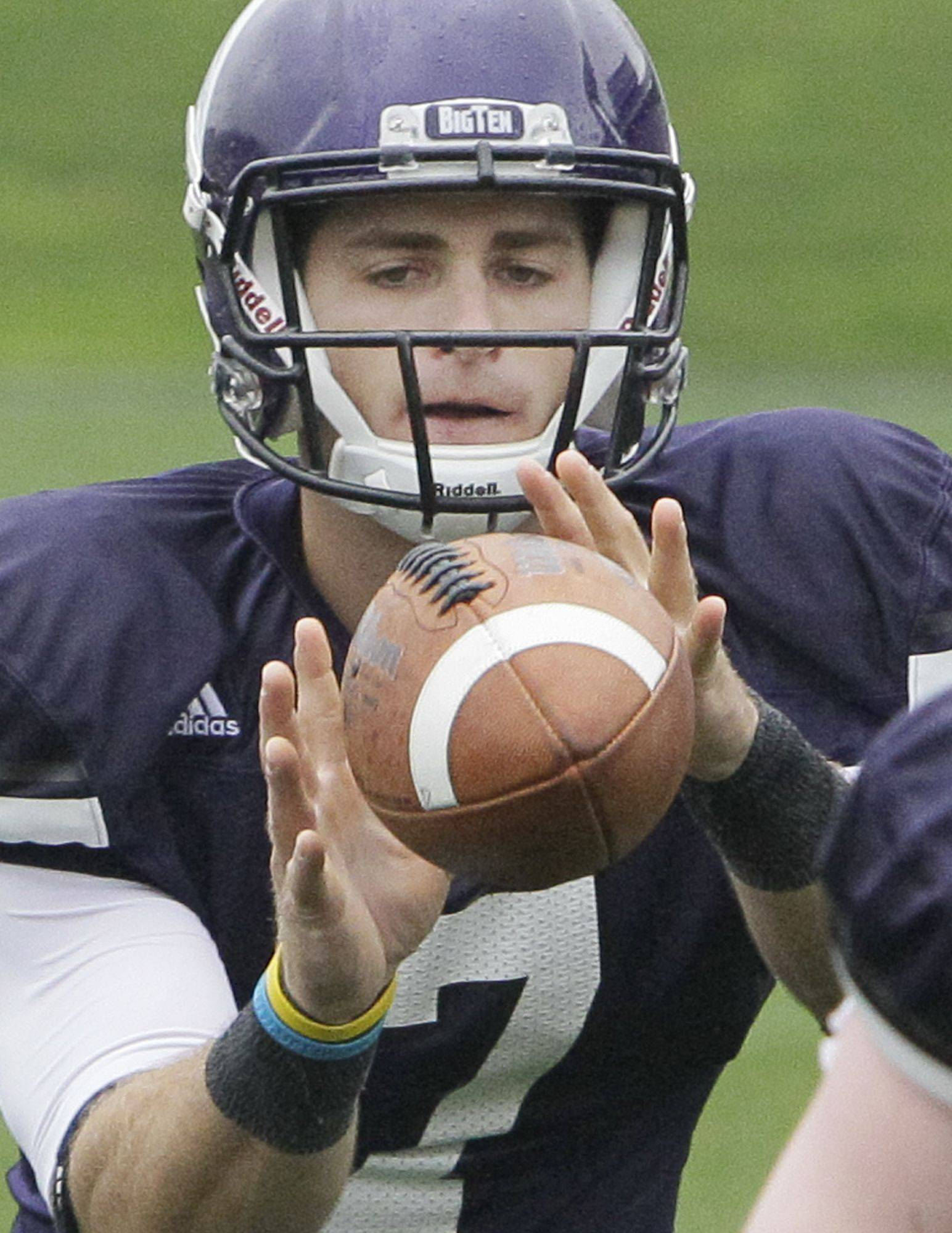 Northwestern quarterback Dan Persa, still rehabbing his injured right Achilles tendon, might not take the first snap in Saturday�s opener at Boston College.