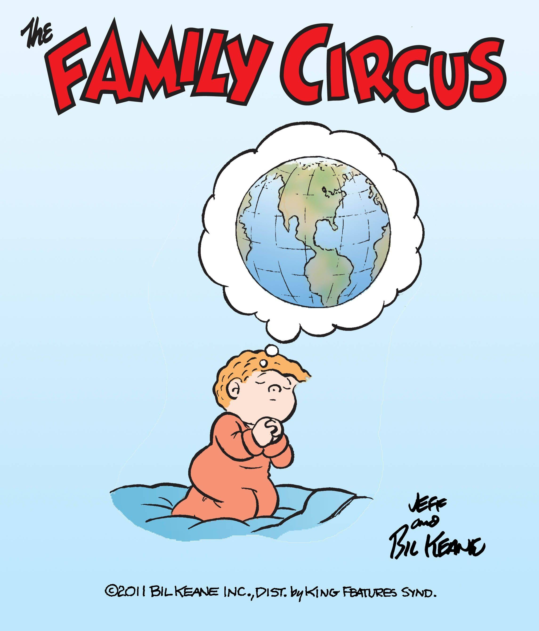"The comic strip ""Family Circus"" is one of more than 90 cartoons, which will be dedicated to the anniversary of the Sept. 11 terror attacks."