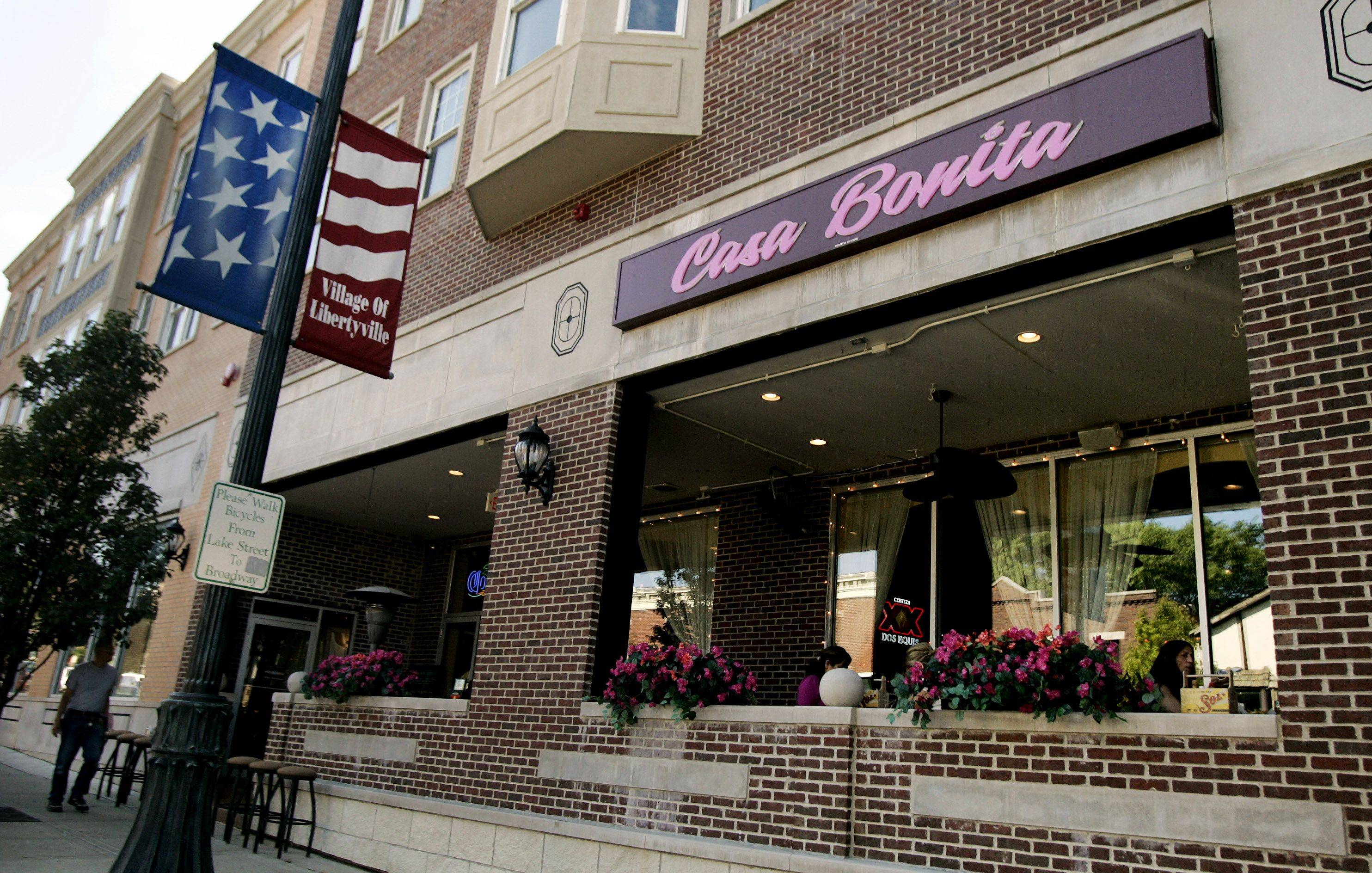 Casa Bonita sits along Milwaukee Avenue in Libertyville.