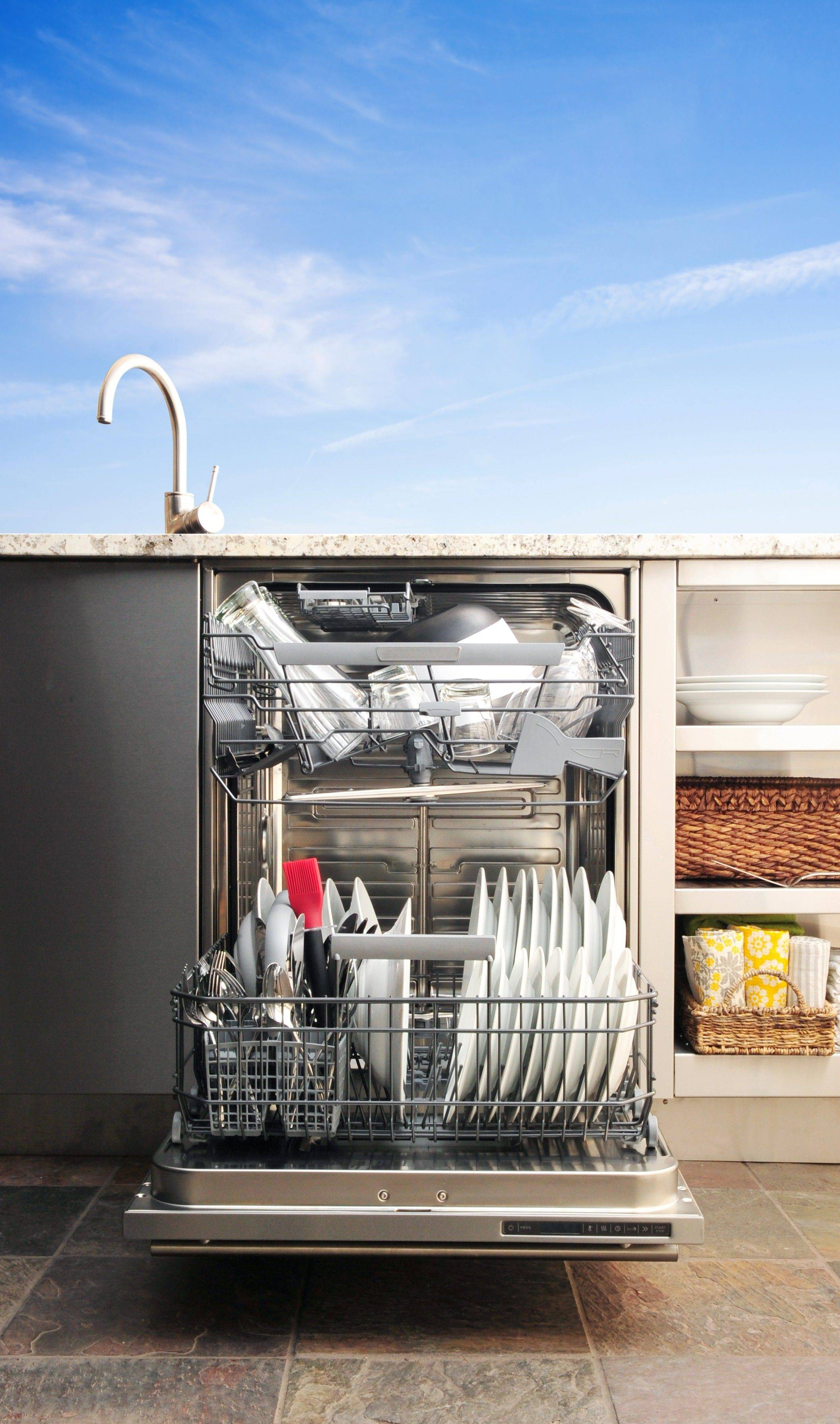 While it certainly doesn't fit in every budget, this $4,990 outdoor dishwasher would save the effort of carrying Labor Day's dirty dishes all the way back inside.