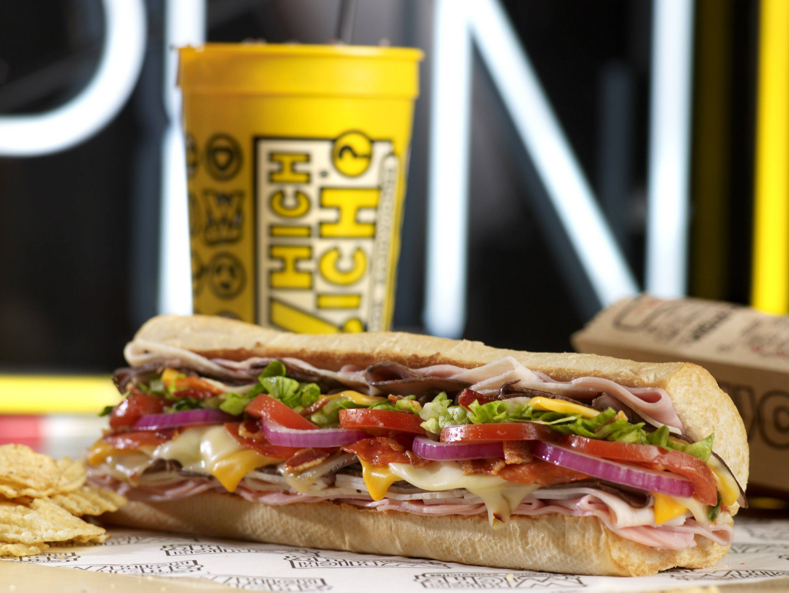 Customize your own sandwich at the new Which Wich? in Oakbrook Terrace.