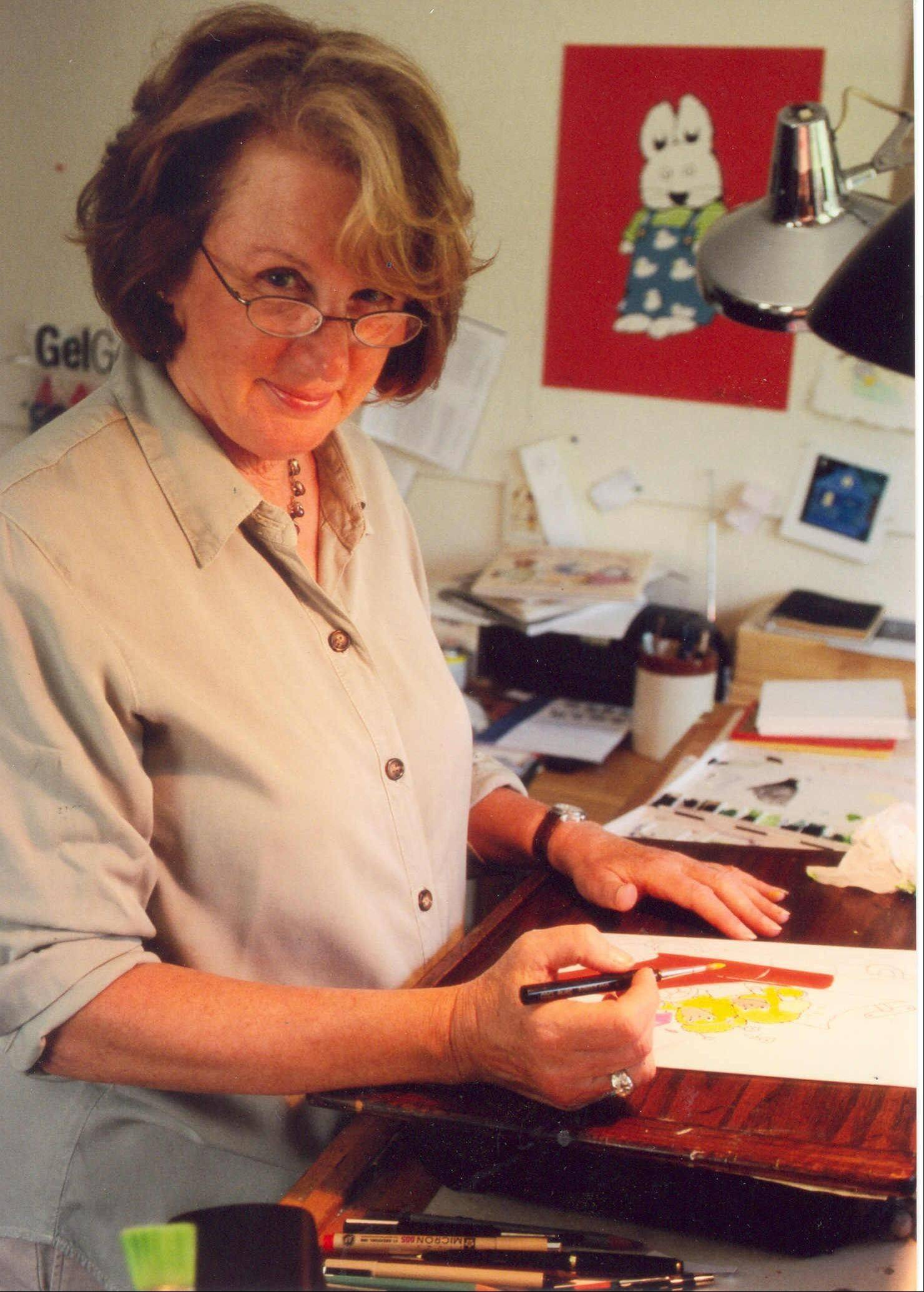 "Children's book author and illustrator Rosemary Wells discusses and signs copies of her new book ""Hands Off, Harry!"" on Monday, Sept. 12, at Anderson's Bookshop in Naperville."