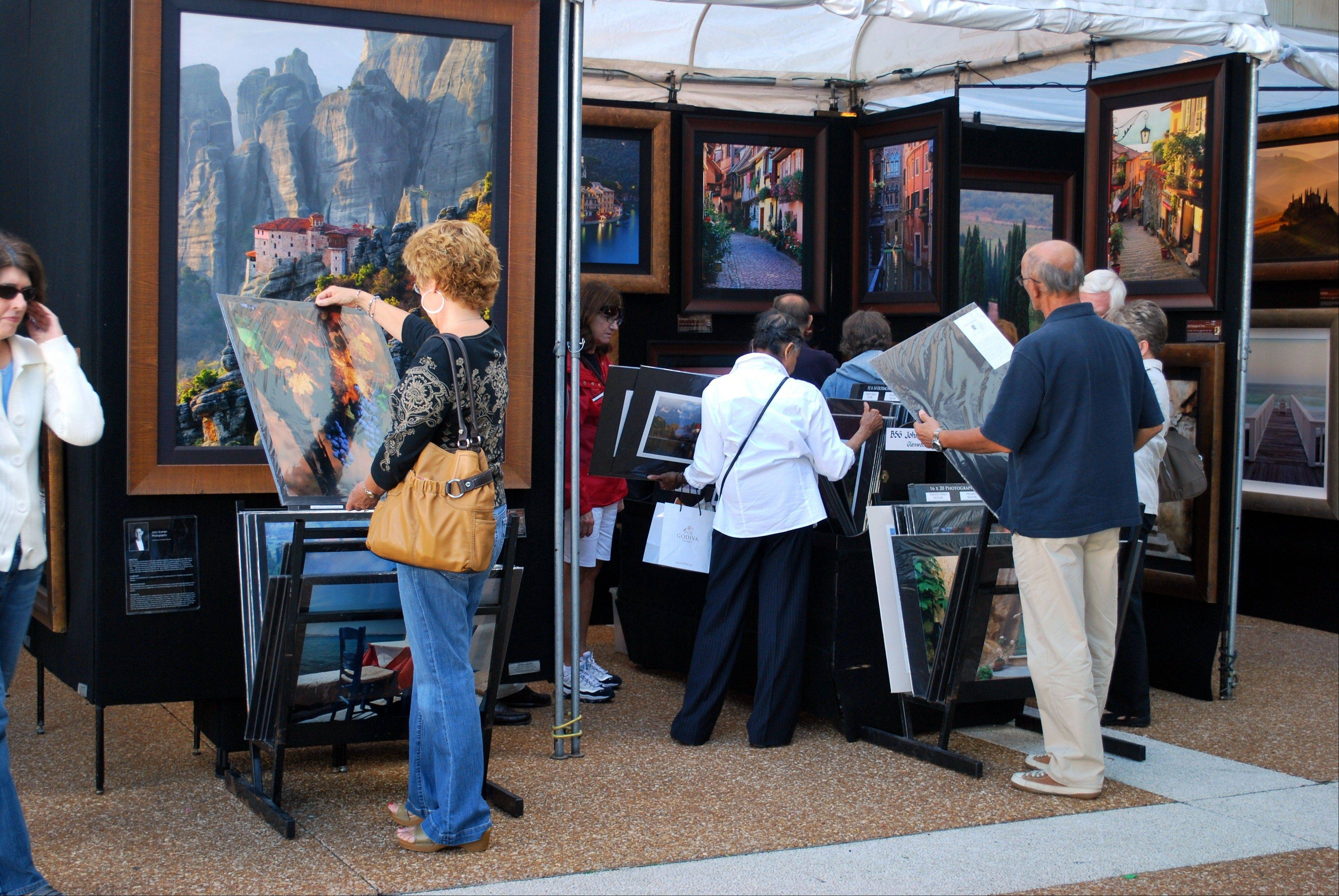 The 49th Annual Fine Art Exhibition is at the Oakbrook Center this weekend.