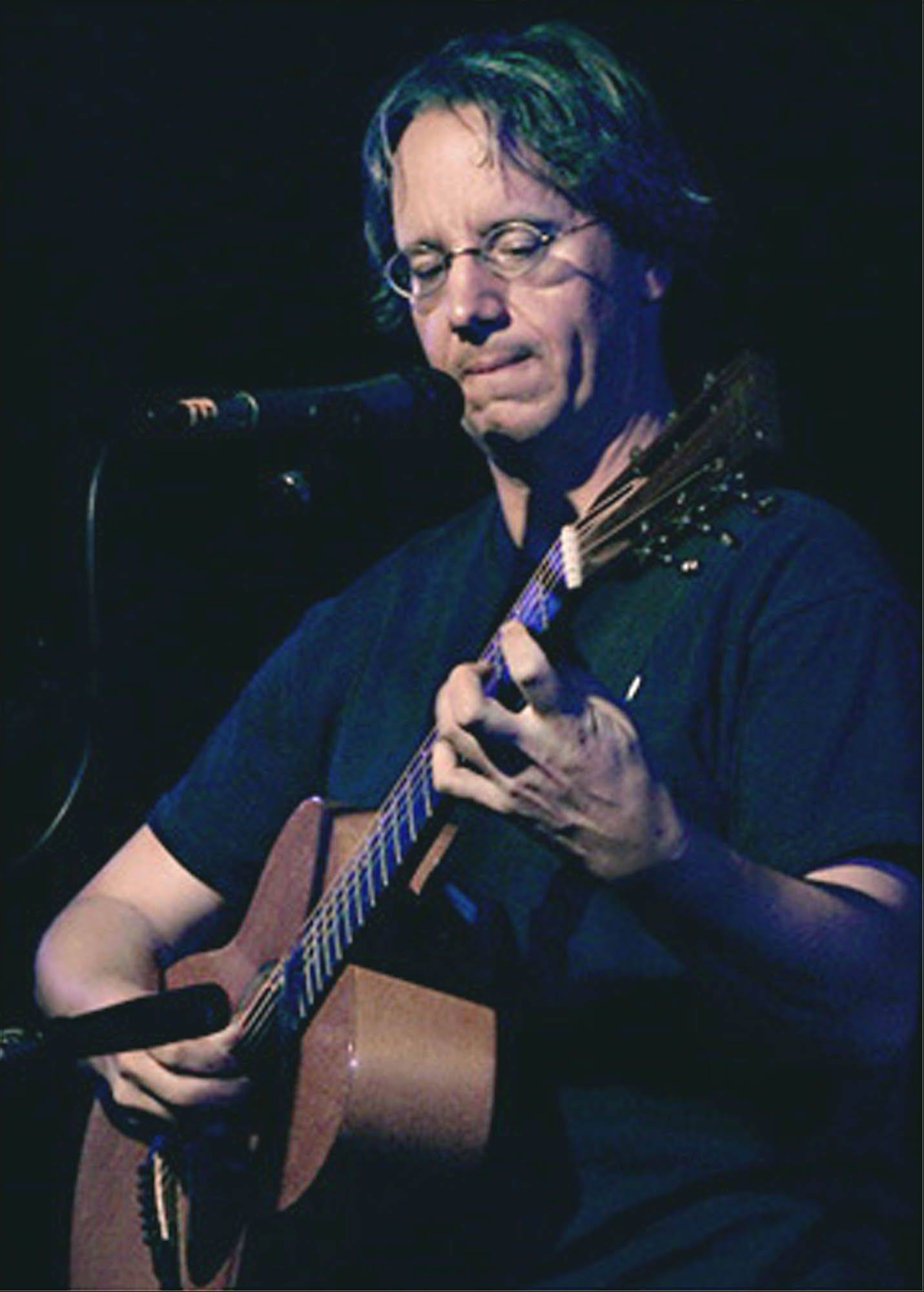 Andrew Calhoun, a Glen Ellyn-based songwriter, is a featured performer at the Fox Valley Folk Music & Storytelling Festival in Geneva.