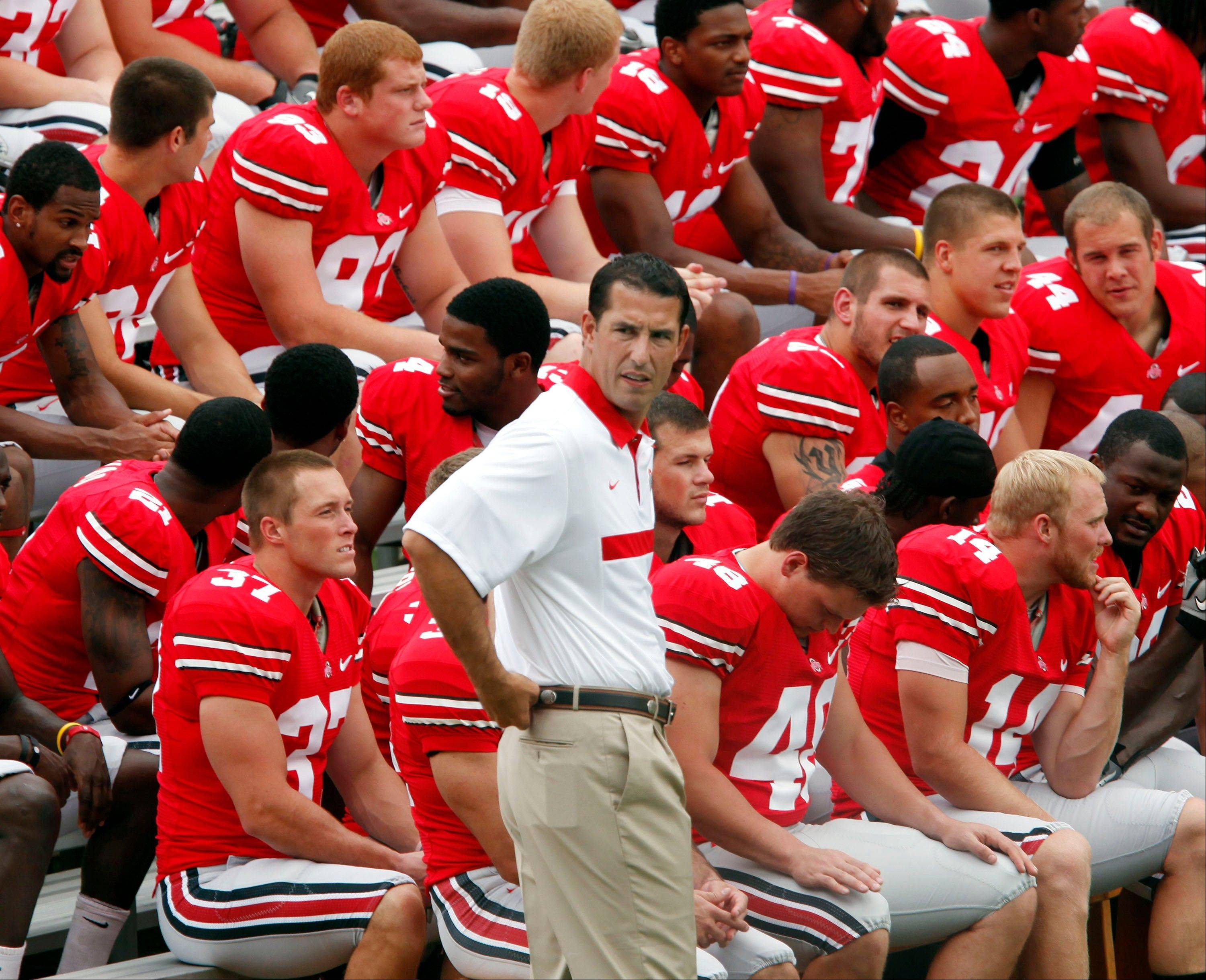 Ohio State head coach Luke Fickell says he's going to stick to his strengths and not dabble with the Buckeyes on offense.