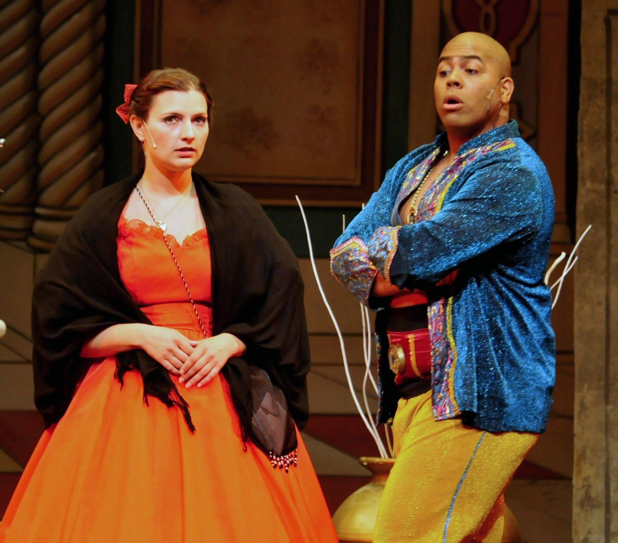 Stephanie Leo and Joe Rigaud, who played the lead roles in the Park District�s recent rendition of �The King and I,� will have a prominent presence in next Saturday�s dinner-theater celebration of Andrew Lloyd Webber�s music.