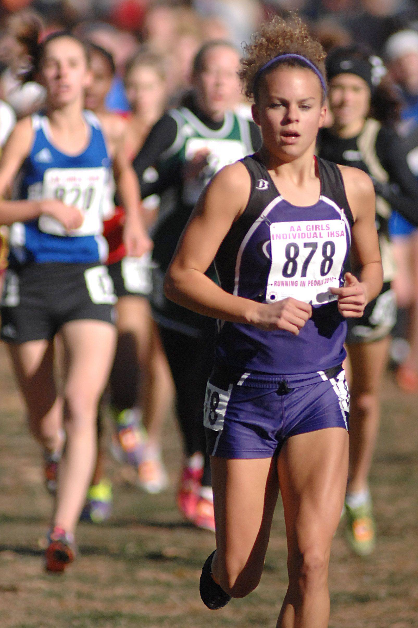 Hampshire�s Cassie Kruse finished in eighth place last season at the Class 2A state cross country meet in Peoria.