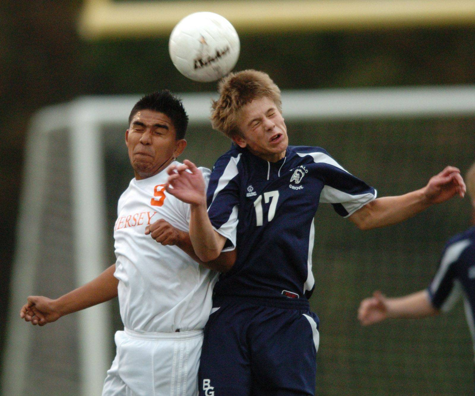 Senior Markus Fiordaliso, right, is looking to help Buffalo Grove take a big step up in the Mid-Suburban East.