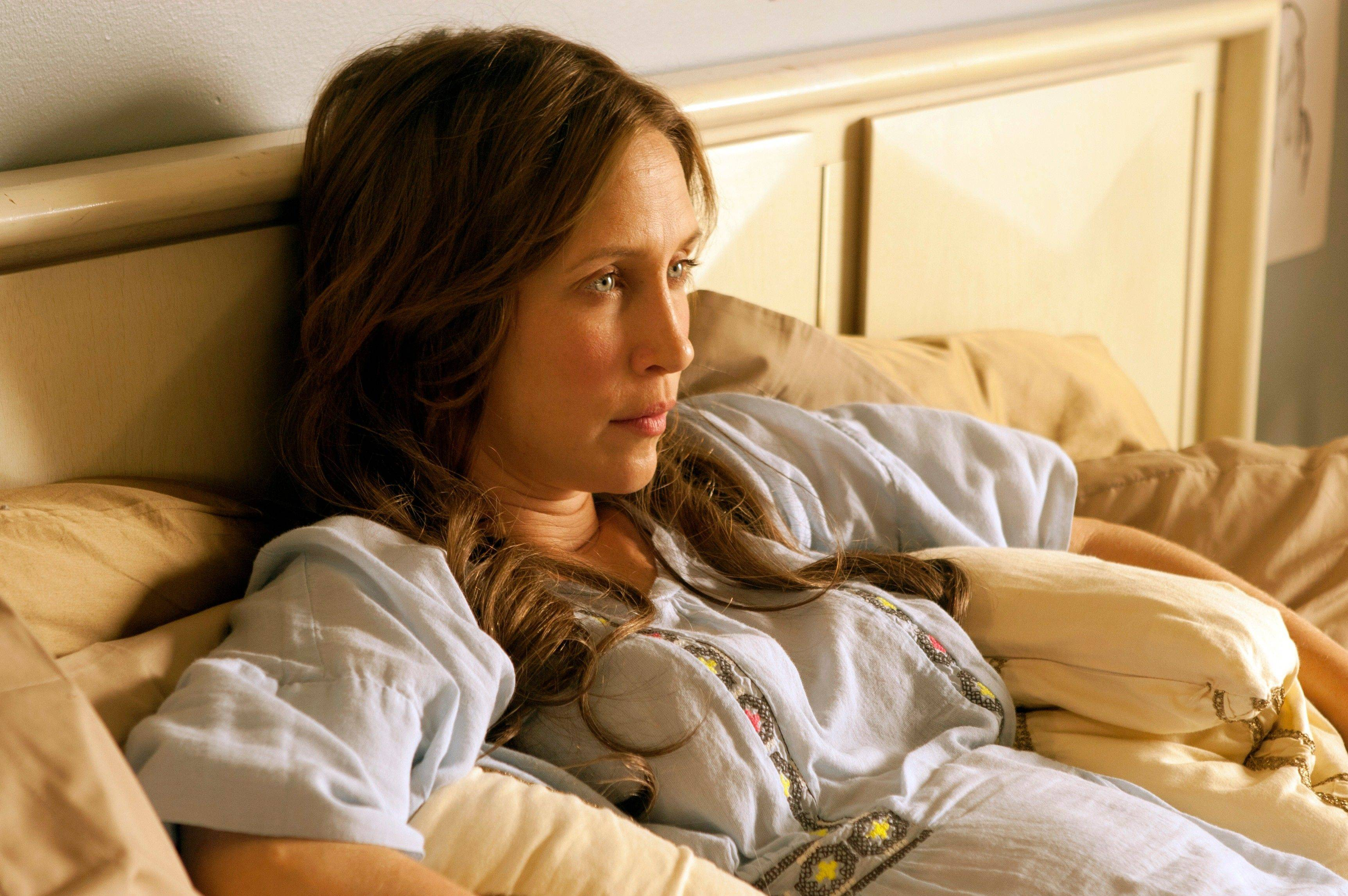 "Vera Farmiga directs and stars in ""Higher Ground."""