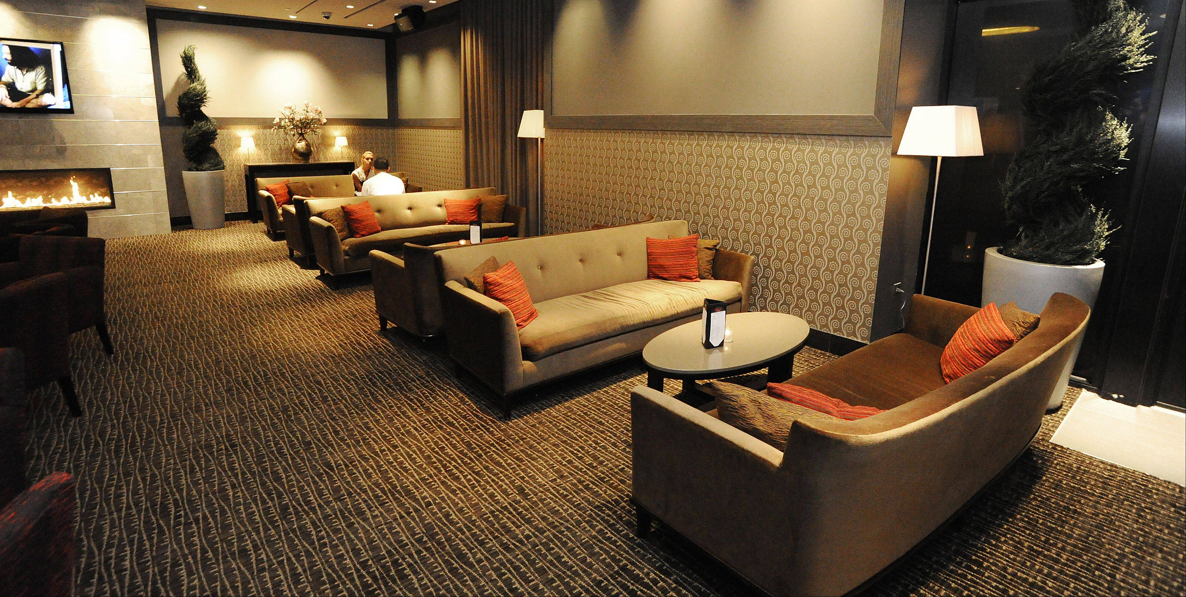 Relax with a drink before your movie feature starts at Salt Sports Bar, located inside the newly renovated iPic Theater in South Barrington.