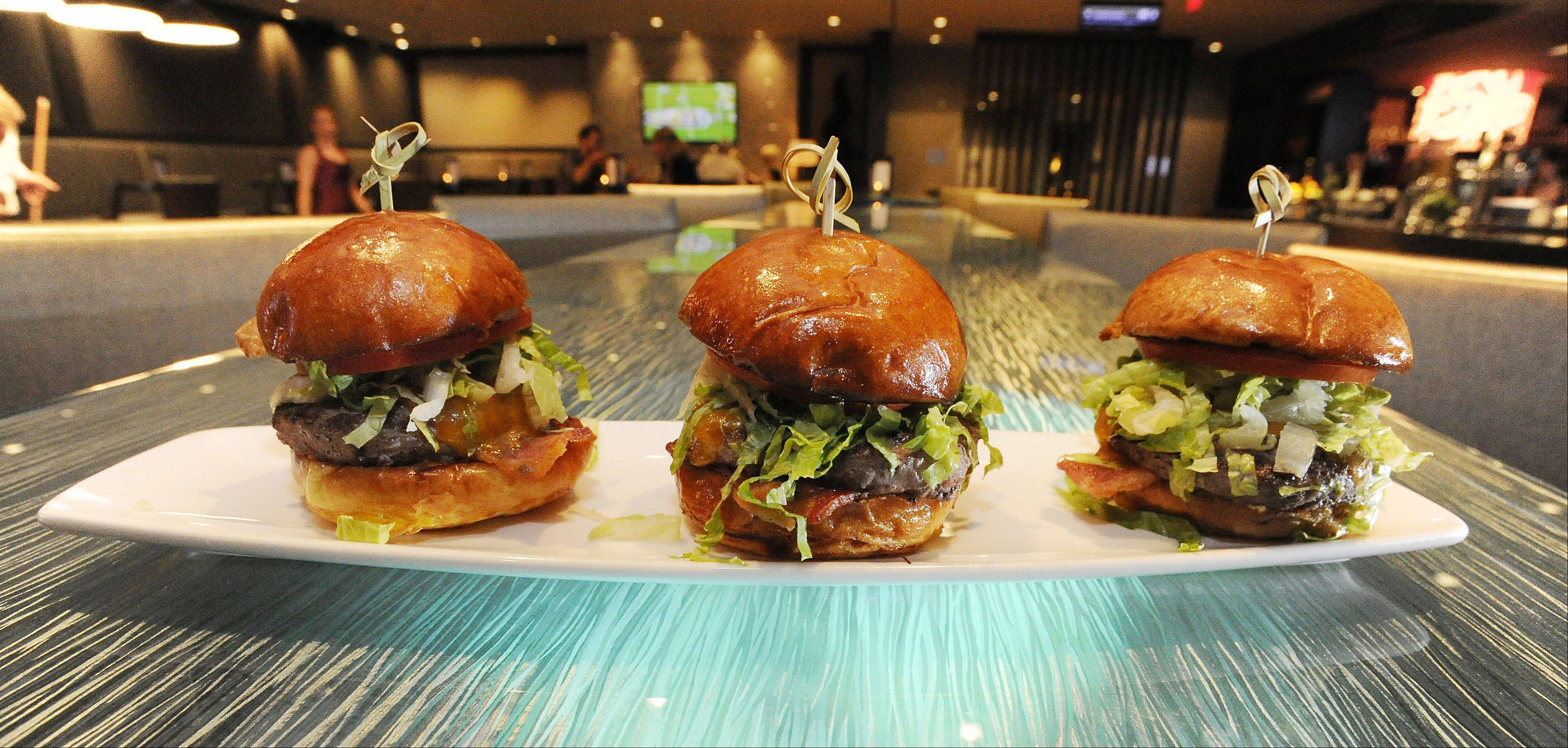 The Angus Burger Trio waits for you at the Salt Sports Bar in South Elgin.