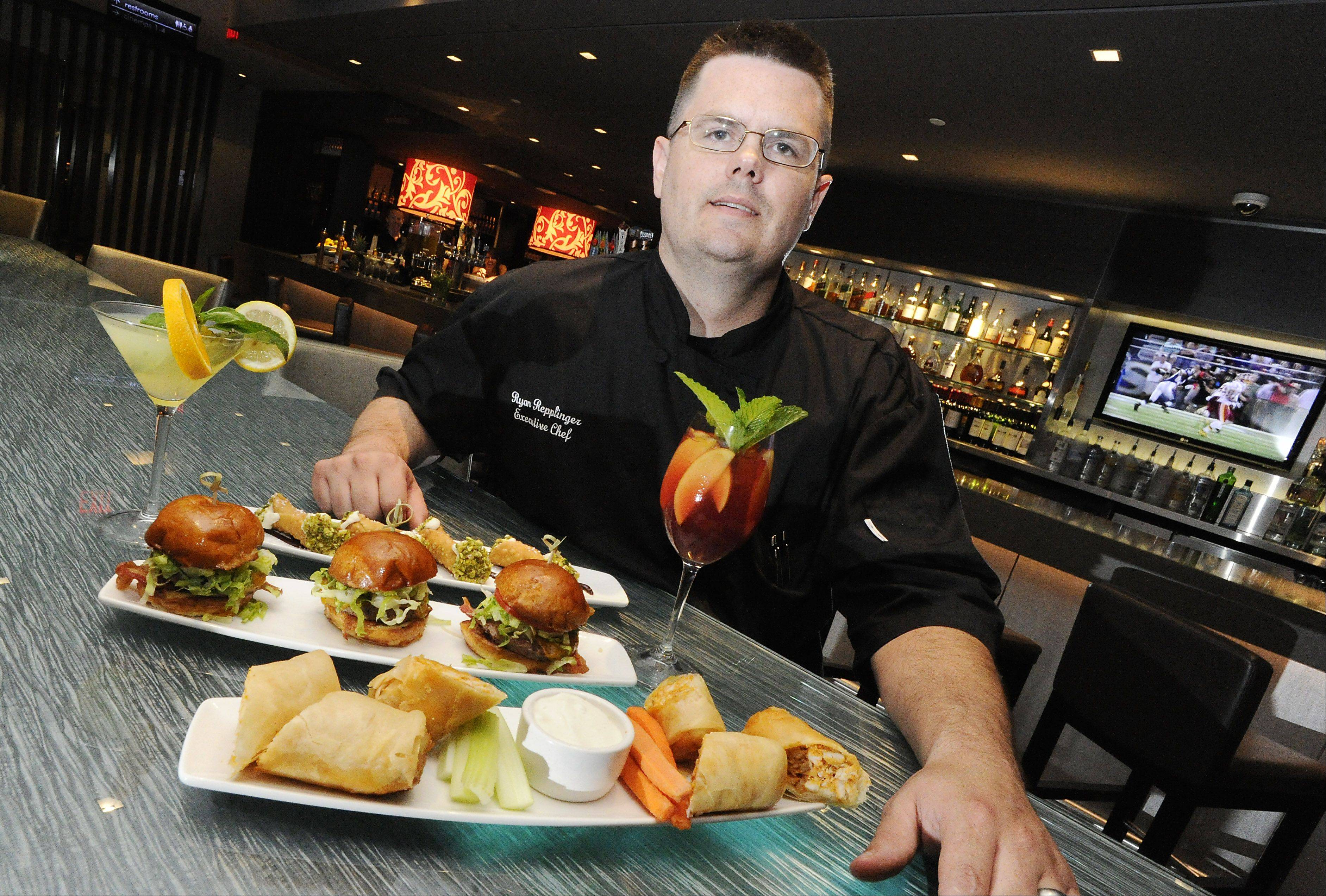 Executive chef Ryan Repplinger of South Elgin leads the kitchen crew at the Salt Sports Bar in South Barrington.