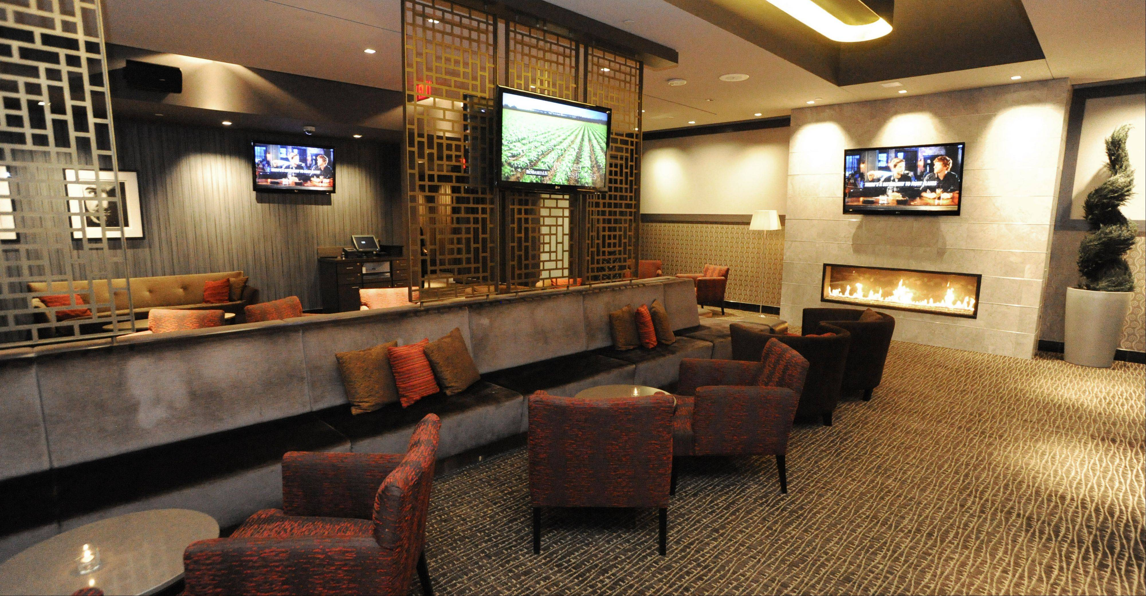 Relax with a drink before your movie feature starts in Salt Sports Bar, the lounge at iPic Theater in South Barrington.