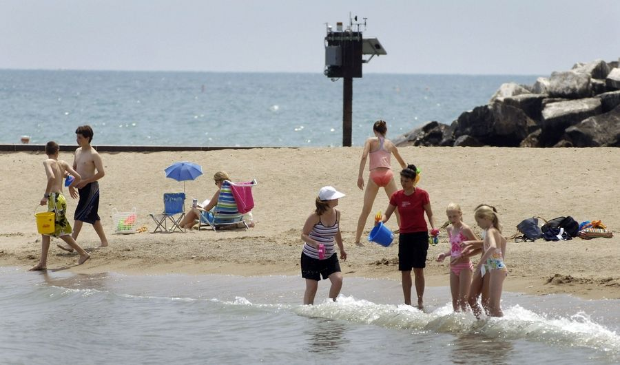 In the wake of five more drowning deaths on Lake Michigan last weekend, including those of a Wheeling man and Evanston teenager, officials are urging swimmers to be cautious when heading into the water this coming holiday weekend.