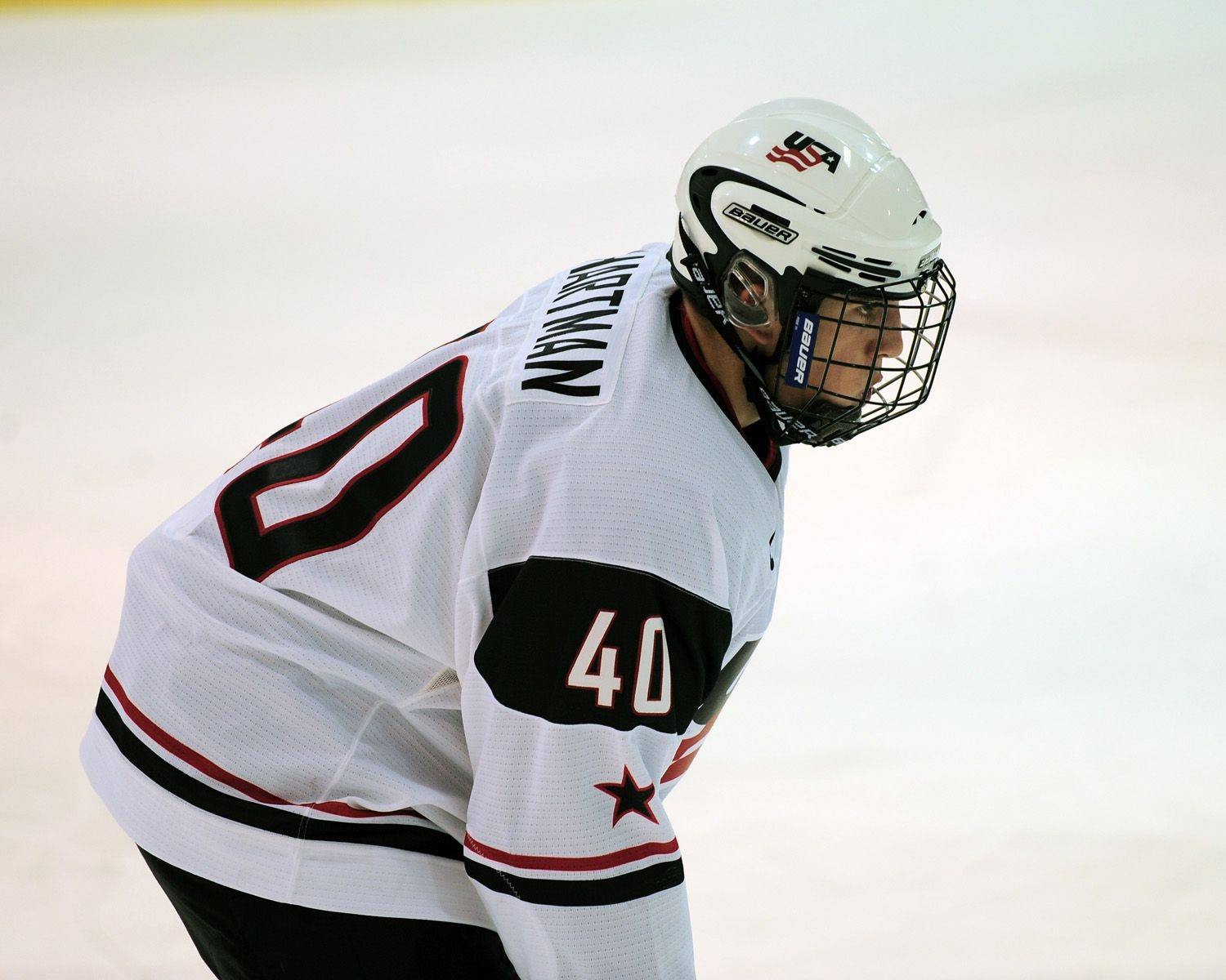 Ryan Hartman of West Dundee plays for USA Hockey's national team development program. He was the leading scorer for the U-17 team last season and this year will play for the U-18 team. Many of the program's players go on to NHL careers.