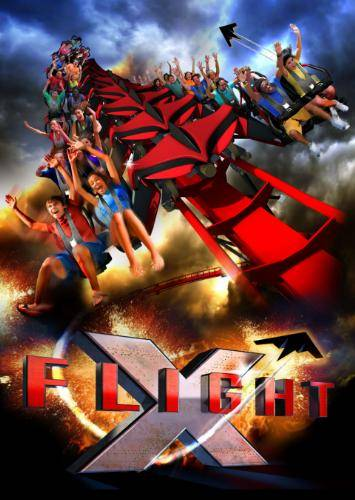Six Flags announced this morning that X-Flight, the only announced wing coaster in the United States, will be the latest attraction at Six Flags Great America in Gurnee.