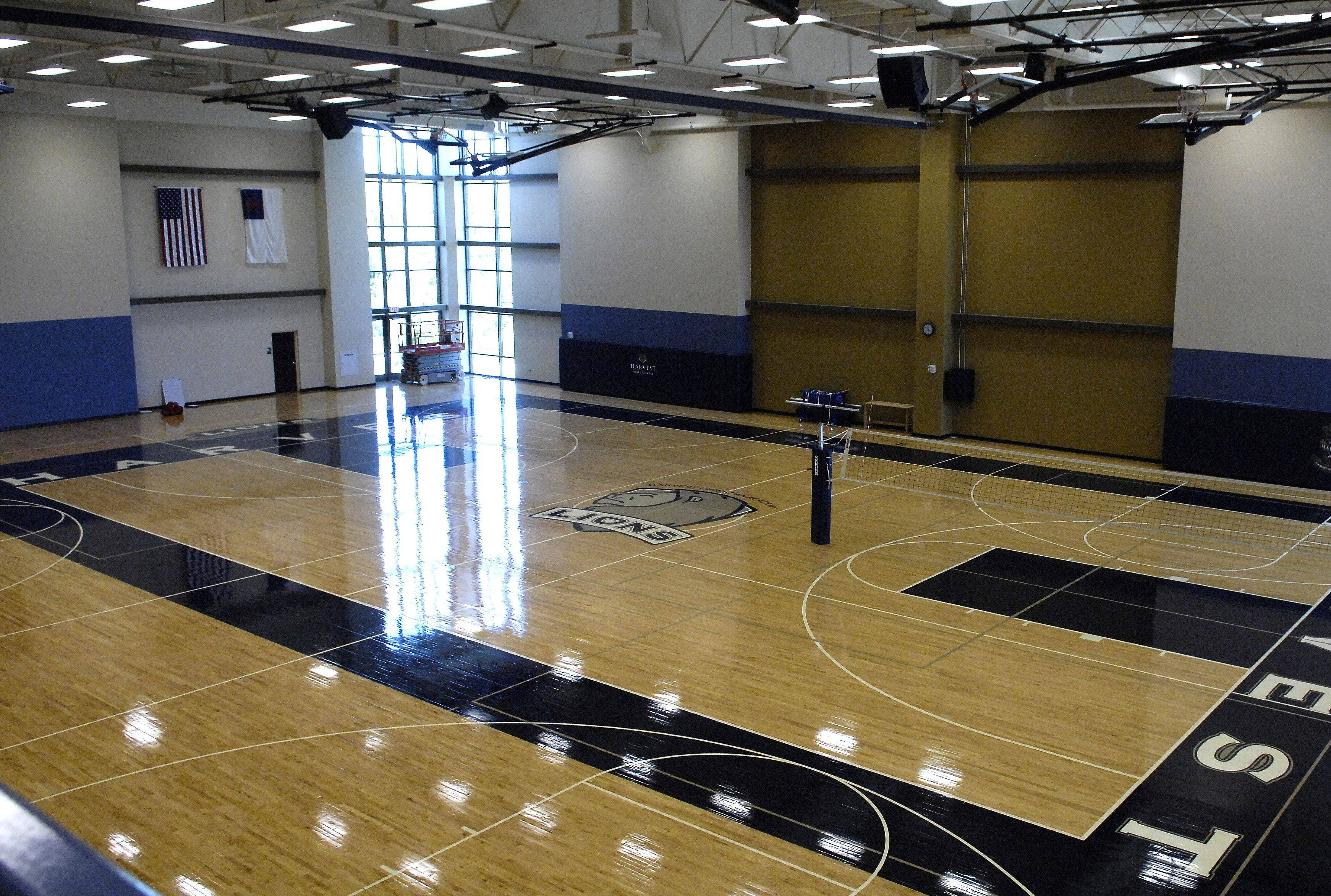 Harvest Christian Academy in Elgin is in its first year of IHSA sports participation and will play volleyball and basketball in the Mitchell Swaback Athletic Center.