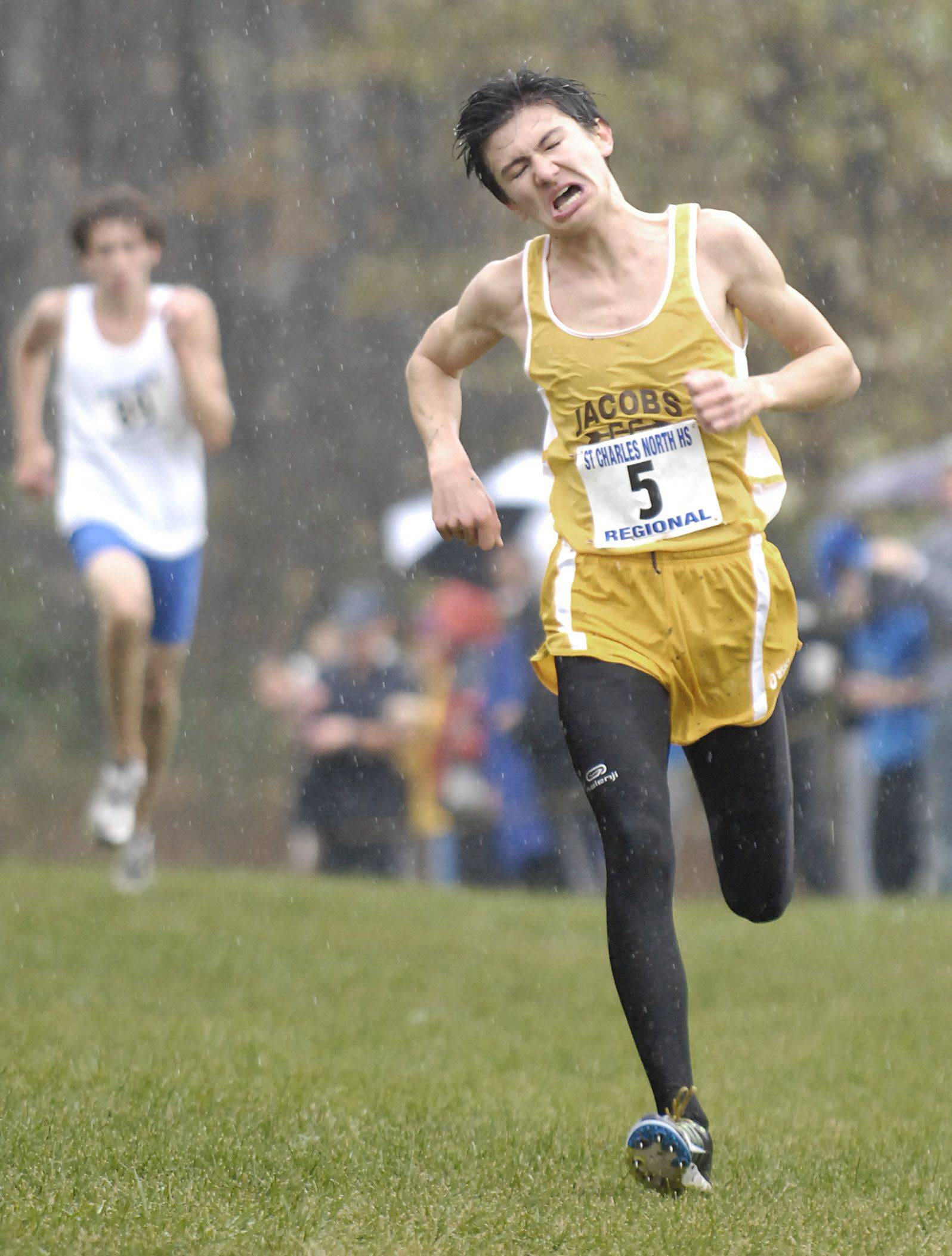 Jacobs' William Hennessy is one of the top returning runners in the Fox Valley Conference.