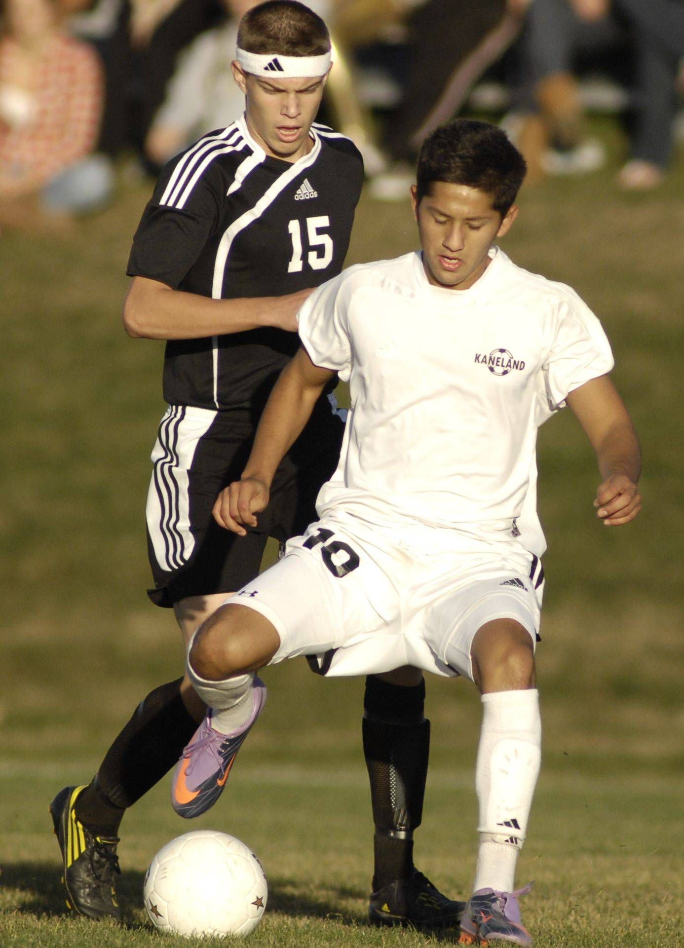 Jordan Escobedo, right, is one of the returnees Kaneland is counting on for a winning season.
