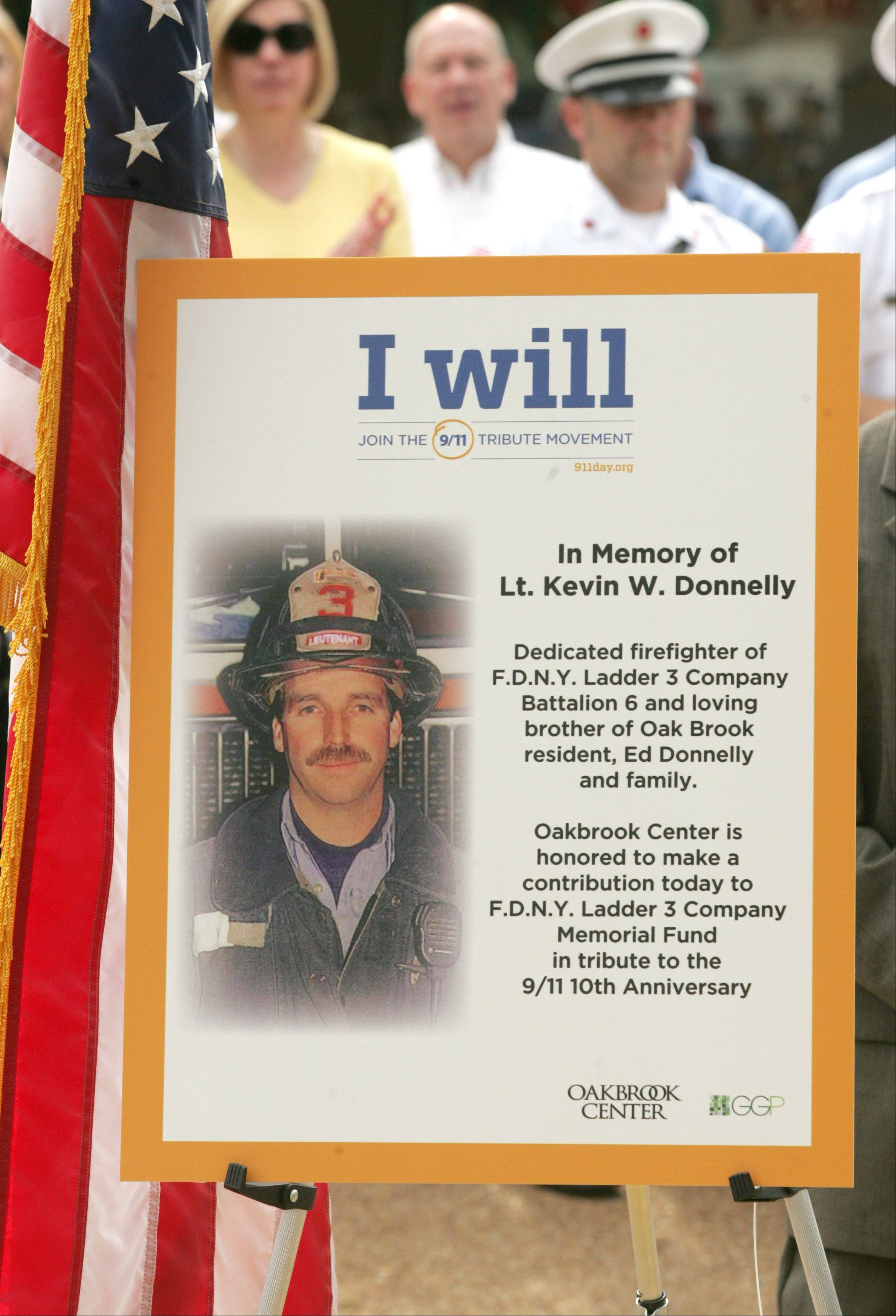 Lt. Kevin W. Donnelly was among the Ladder Company 3 firefighters killed while trying to rescue others from the World Trade Center.