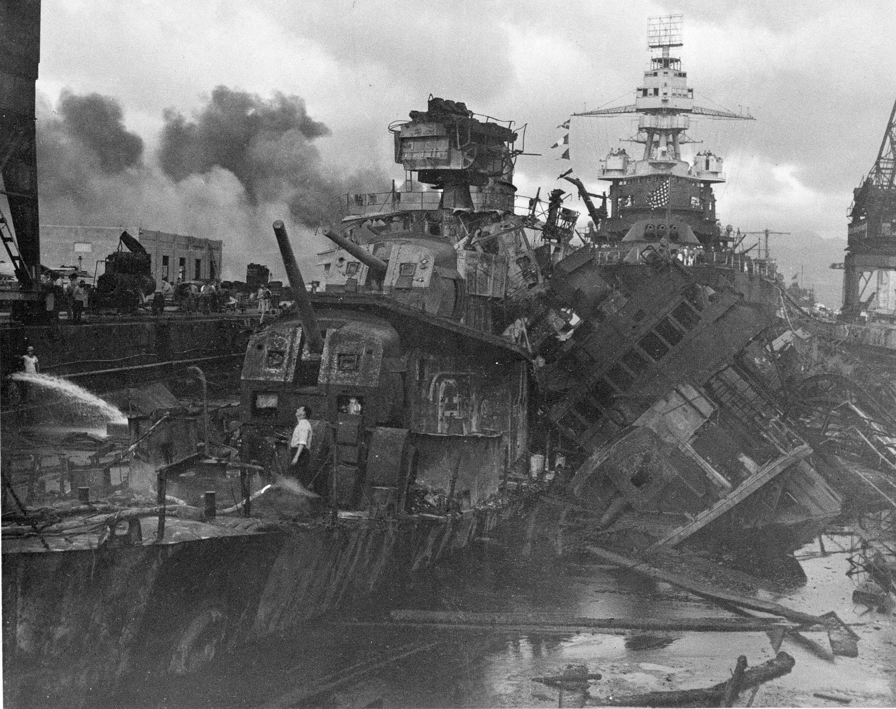 The most comparable attack against the United States was the surprise Japanese bombing of Pearl Harbor on Dec. 7, 1941, that plunged the U.S. into war.
