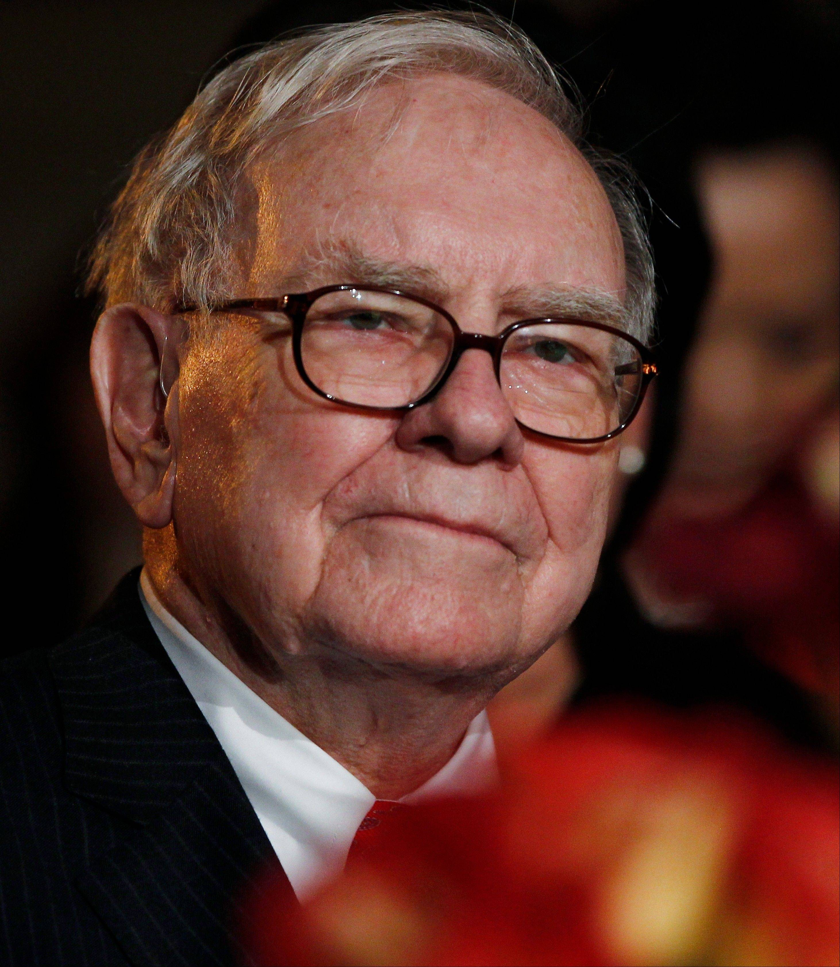 Warren Buffett, the self-made billionaire and son of a former Republican congressman, has widened the rift with his father�s party by pressing for tax increases on the wealthy and reinforcing ties with President Barack Obama.