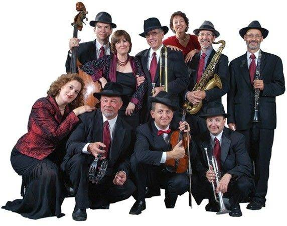Maxwell Street Klezmer Band will perform 3 p.m. Sunday, Sept. 18, at Forest View Education Center Theater, 2121 S. Goebbert Road, in Arlington Heights.