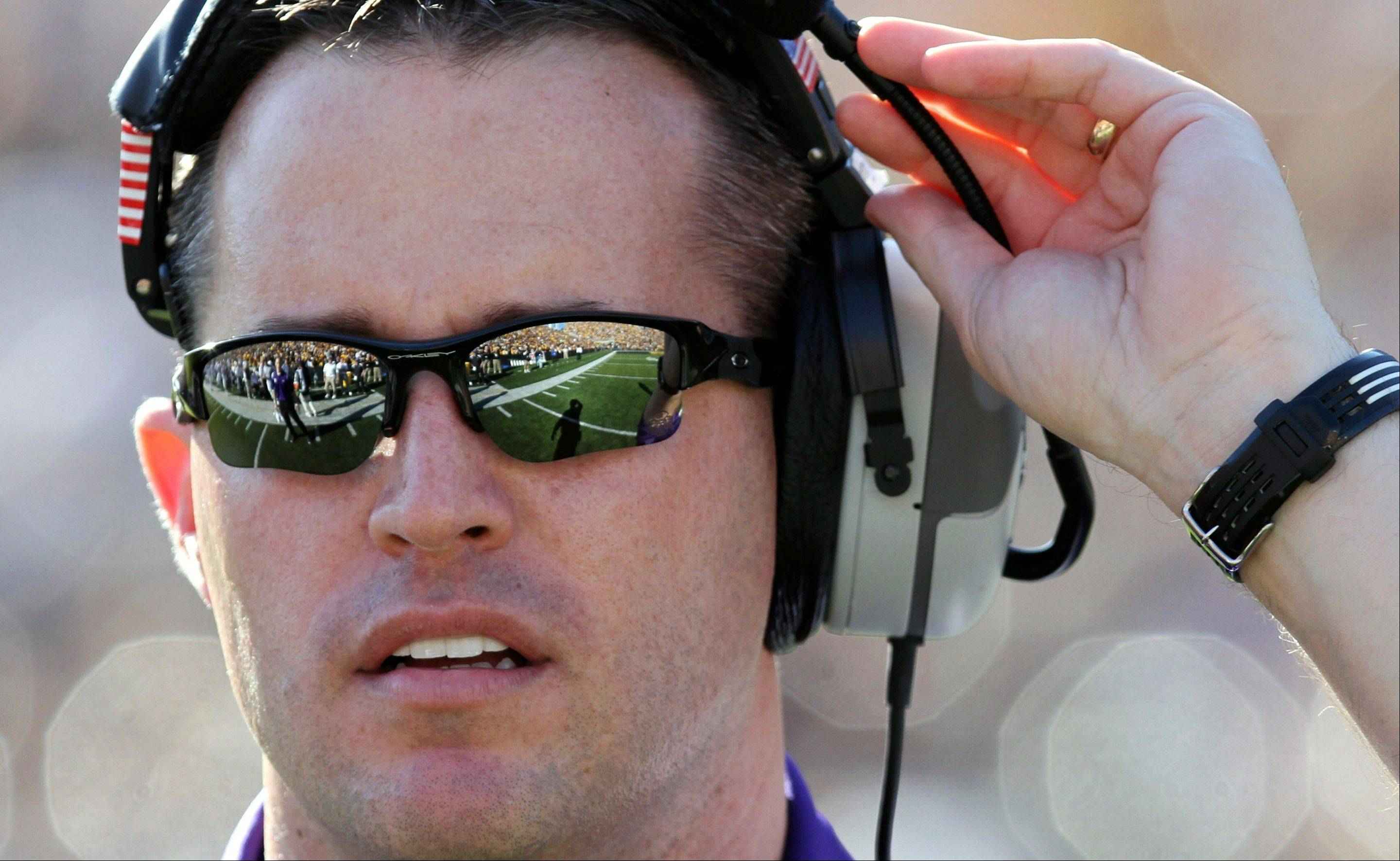 Northwestern coach Pat Fitzgerald has a perfect record in the team's last five college football openers: 5-0.