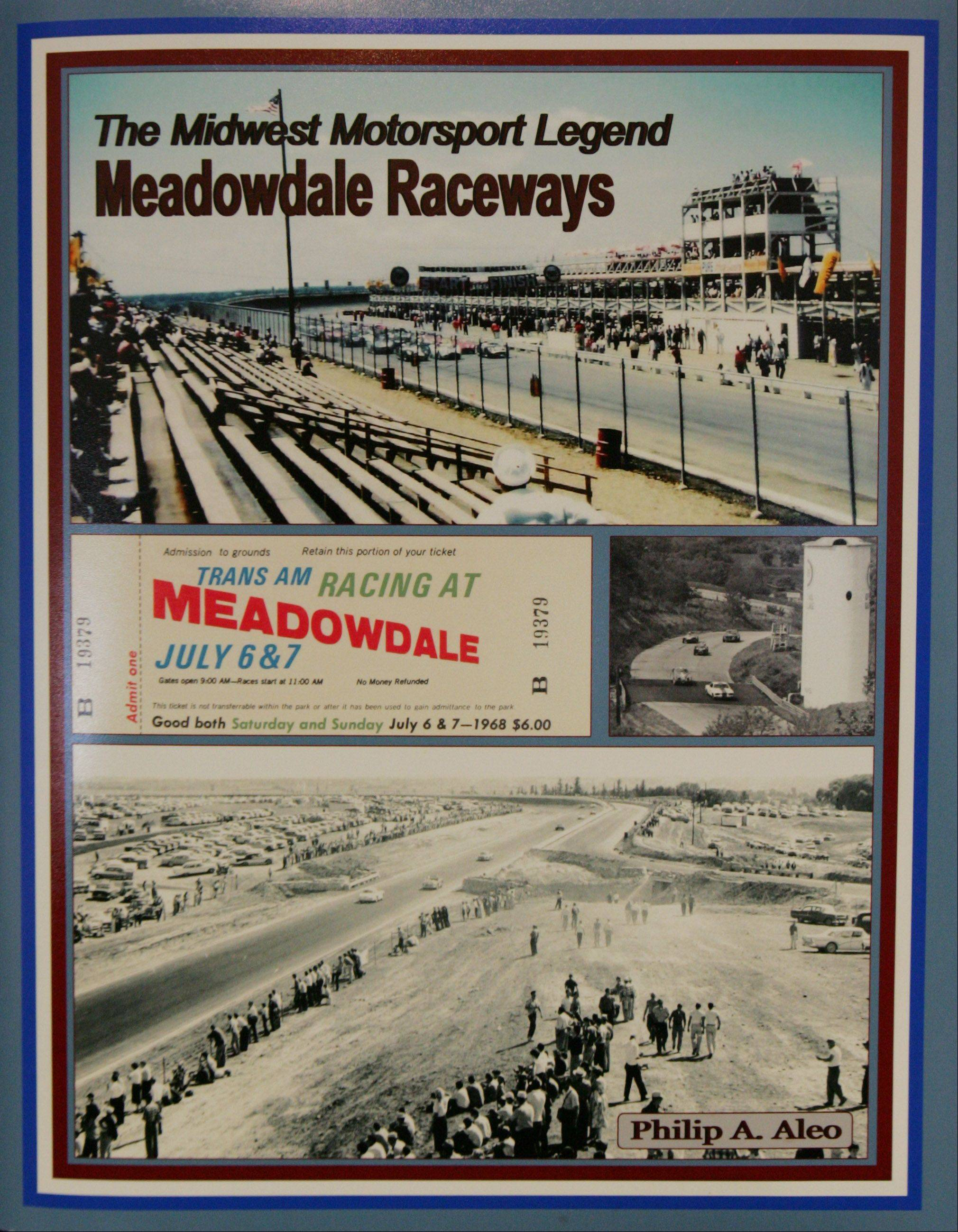 Sleepy Hollow resident Phil Aleo has written a book about the history of the Meadowdale International Raceways near Carpentersville. The hardcover book of 205 pages is the culmination of 300 photographs and 25 interviews done over five years.