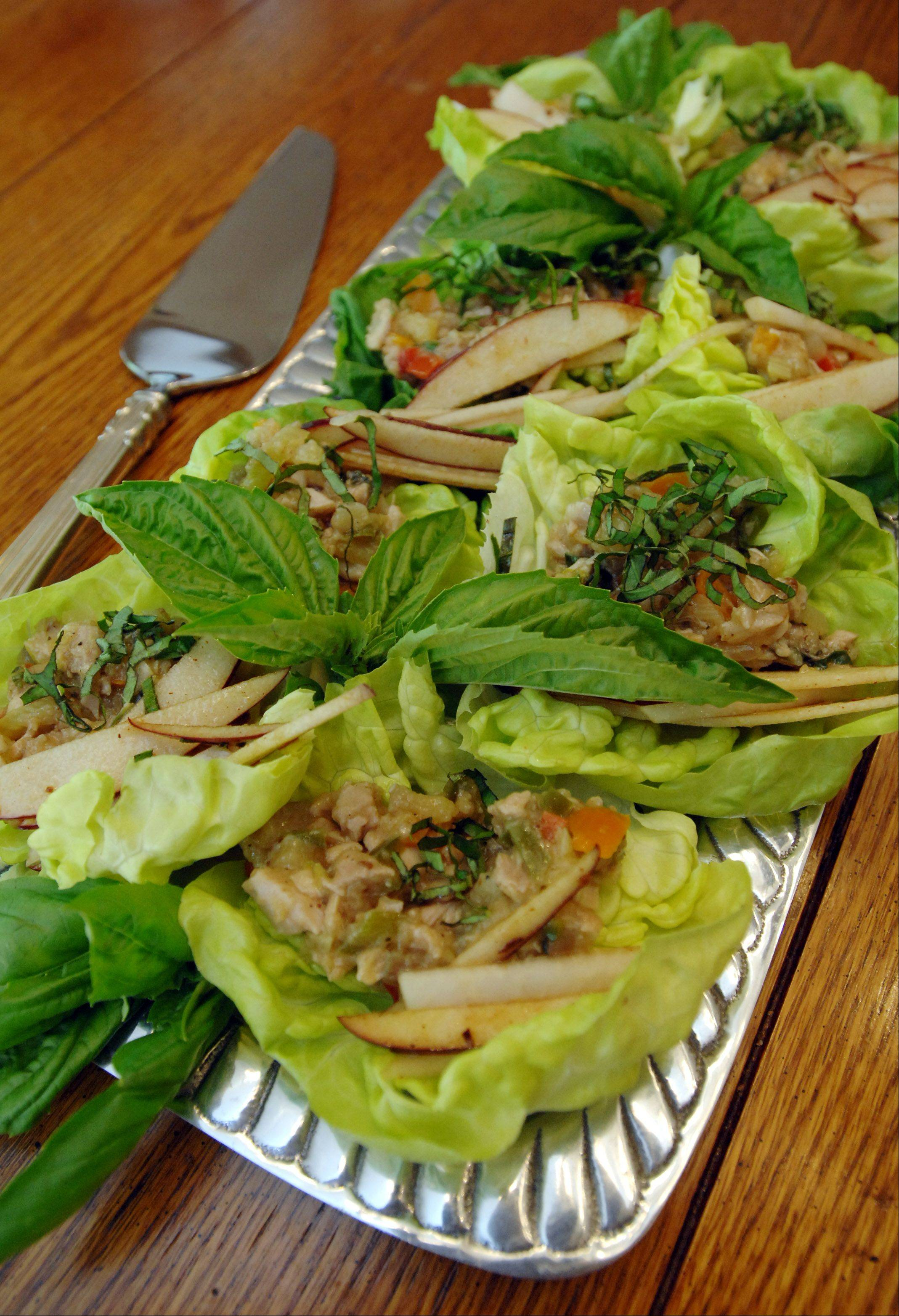 Surprise Lettuce Wraps