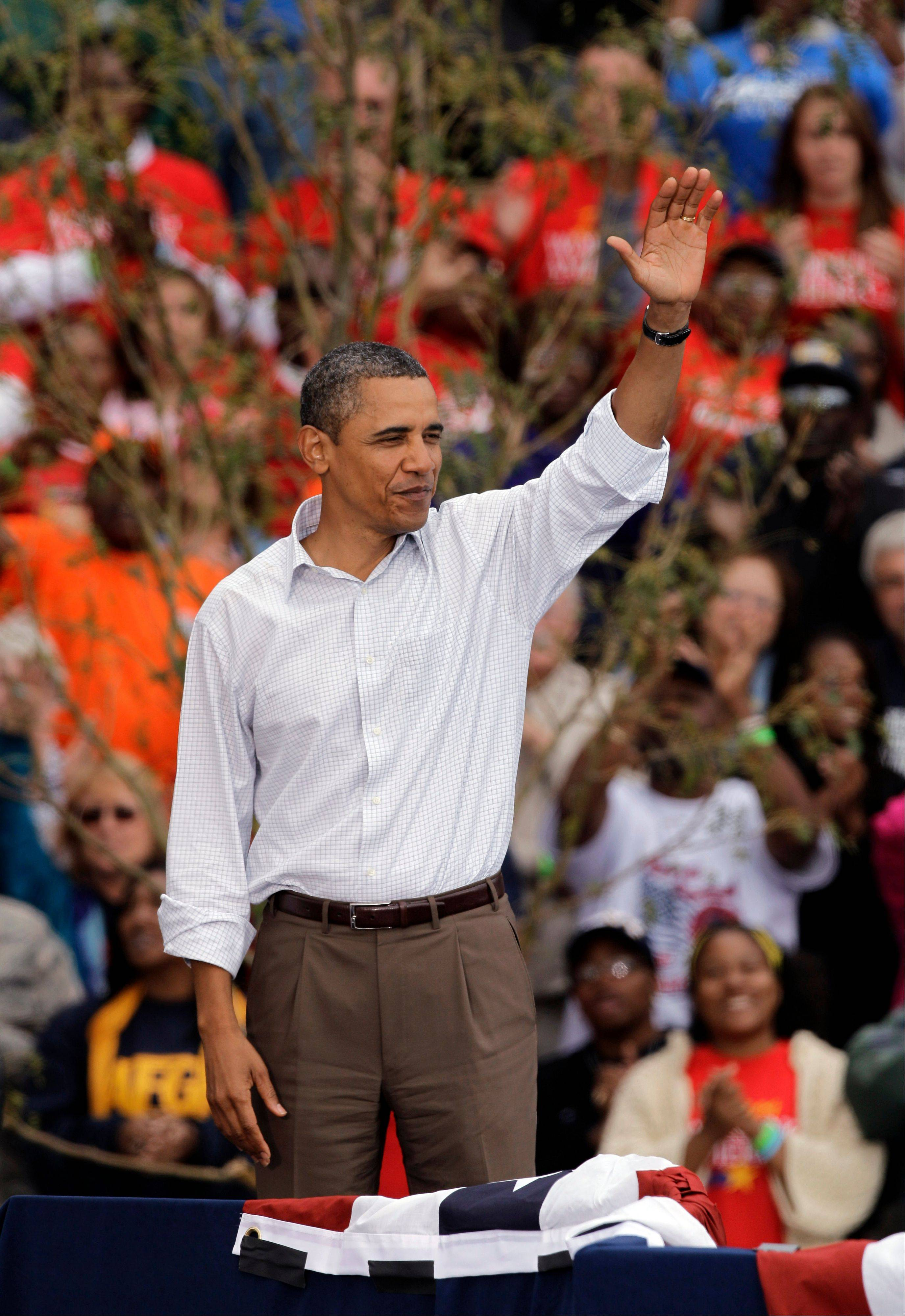 President Barack Obama, seen above making a Labor Day speech in Detroit on Monday, is expected to propose a $300 billion jobs proposal Thursday.
