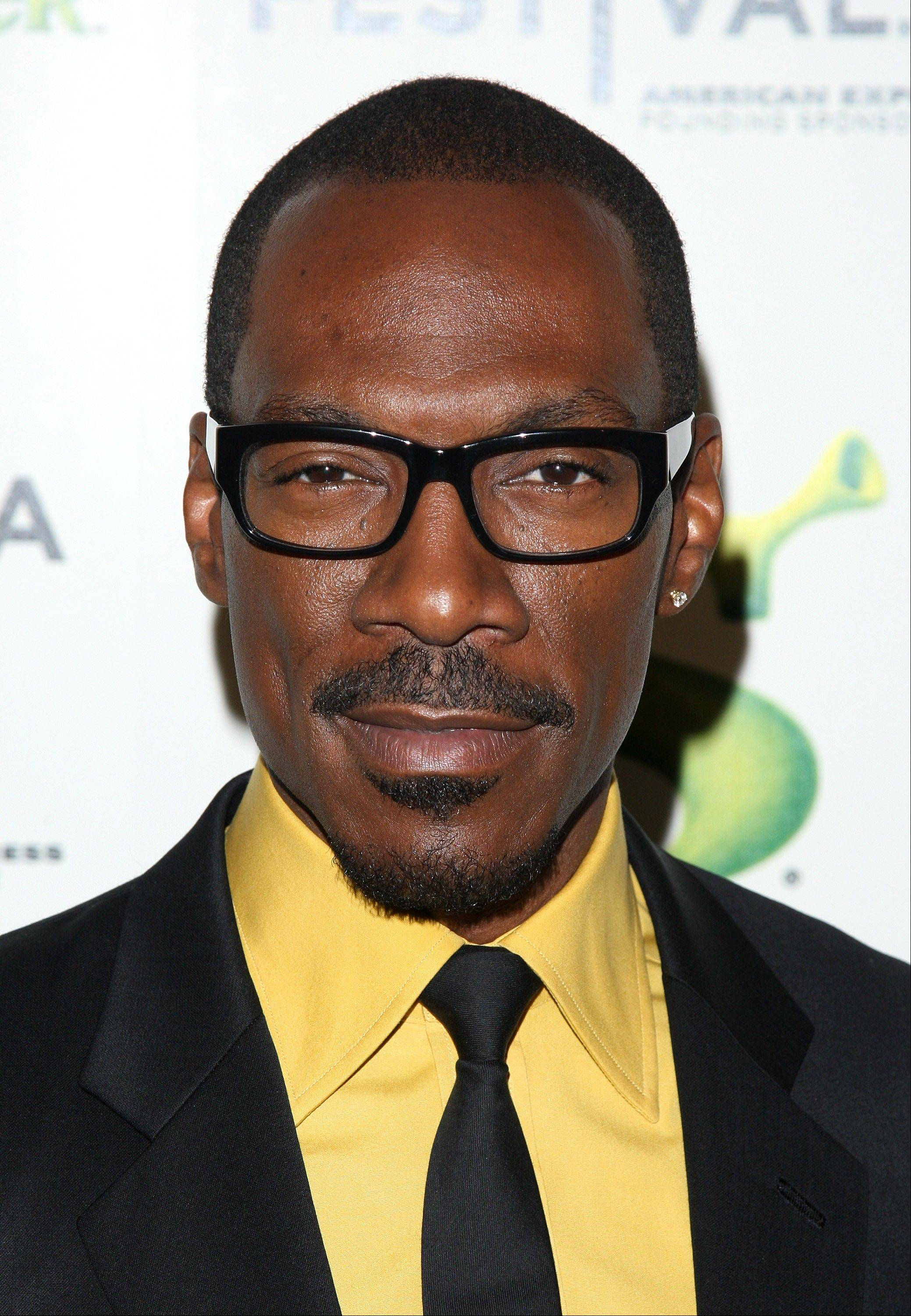 Actor Eddie Murphy will host this year's Academy Awards show on Sunday, Feb. 26.