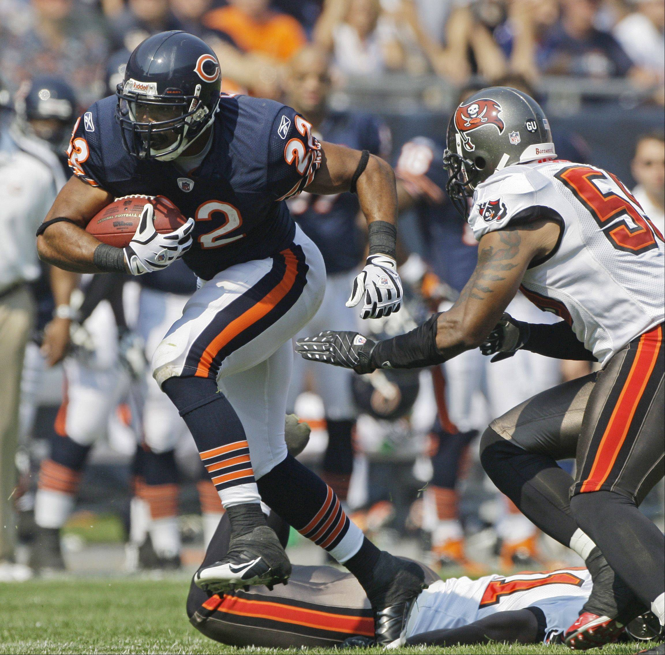 Matt Forte, who will make $550,000 in 2011, was 10th in the NFL last season with 1,616 yards from scrimmage.