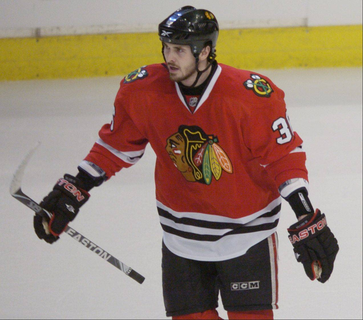 Blackhawks center Dave Bolland feels fortunate that he has bounced back from a concussion he suffered last March.