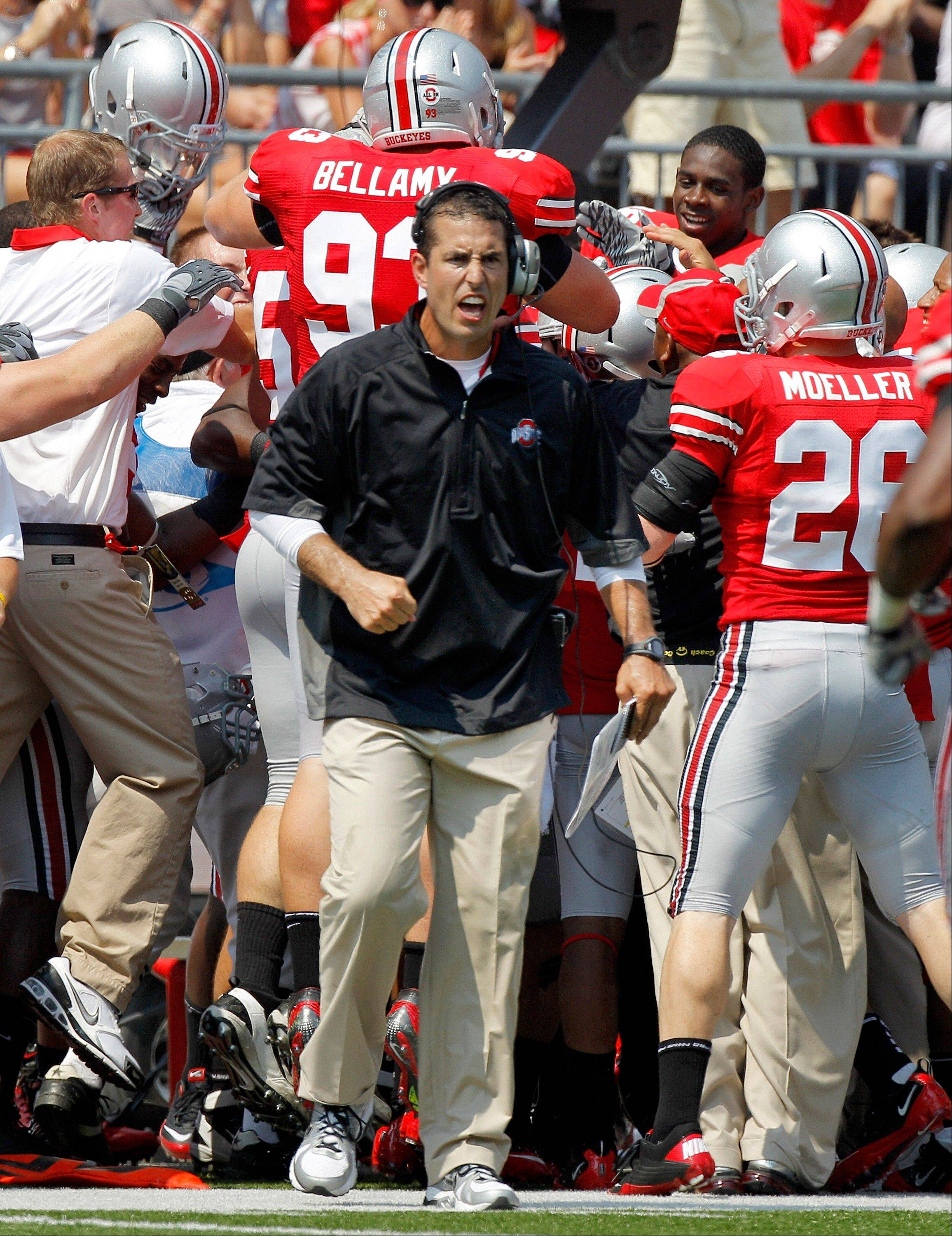 Ohio State head coach Luke Fickell said on Tuesday that four suspended players have been reinstated.