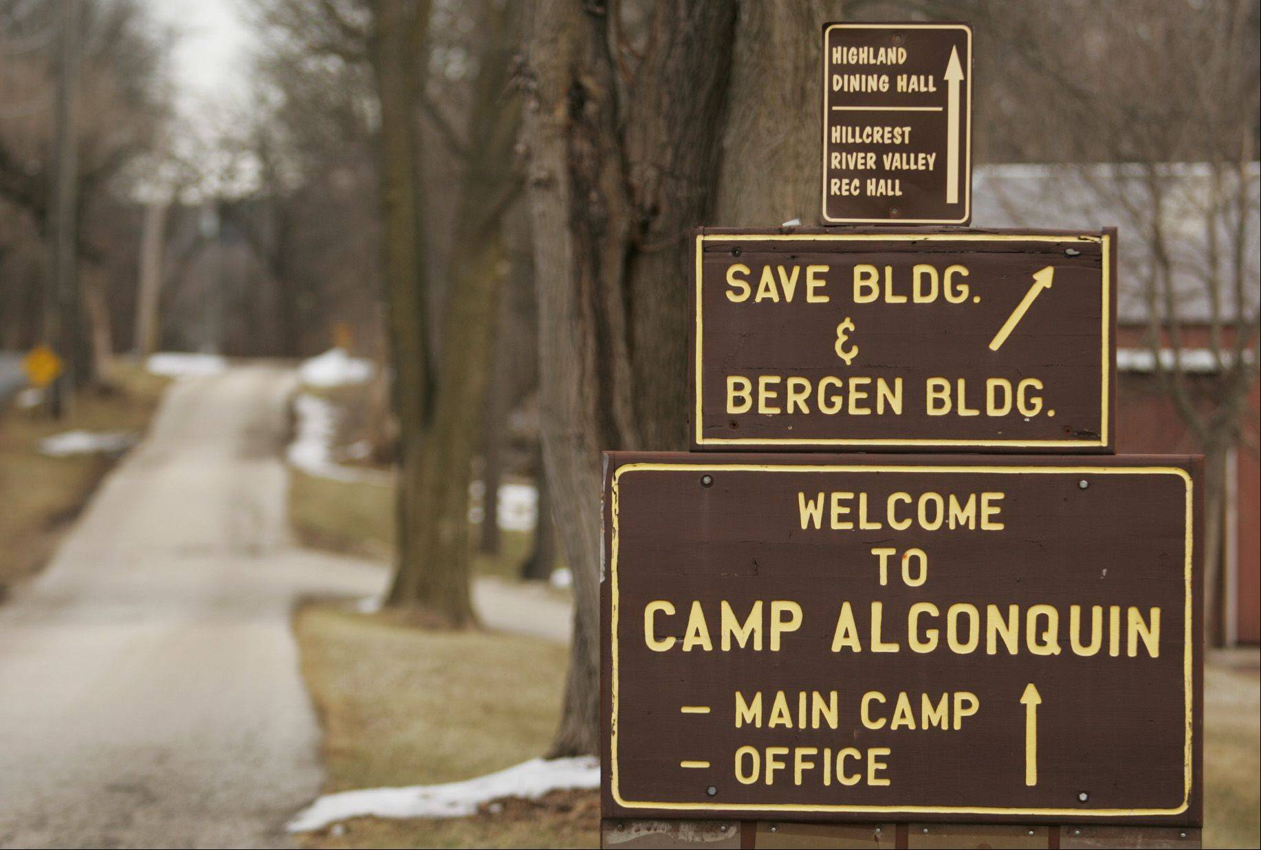 Camp Algonquin closed in March, and McHenry County Conservation District officials will decide what to do with the 116-acre site as part of a master plan for the 395-acre Fox Bluff Conservation Area.