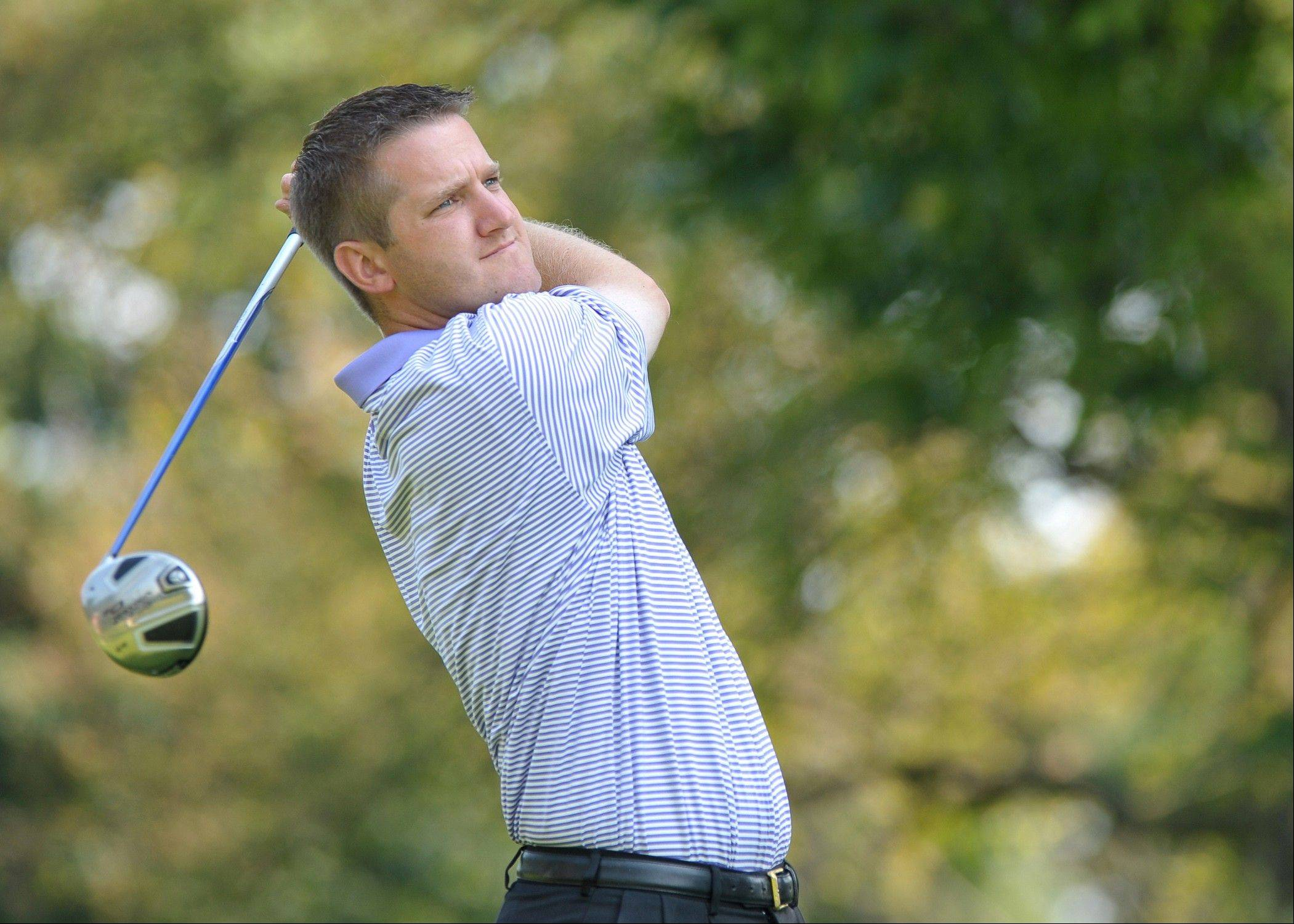 Matt Slowinski of Glen Ellyn finished second last week in the 89th Illinois PGA Championship at Medinah Country Club. The winner, Matt Slowinshi, led wire-to-wire.