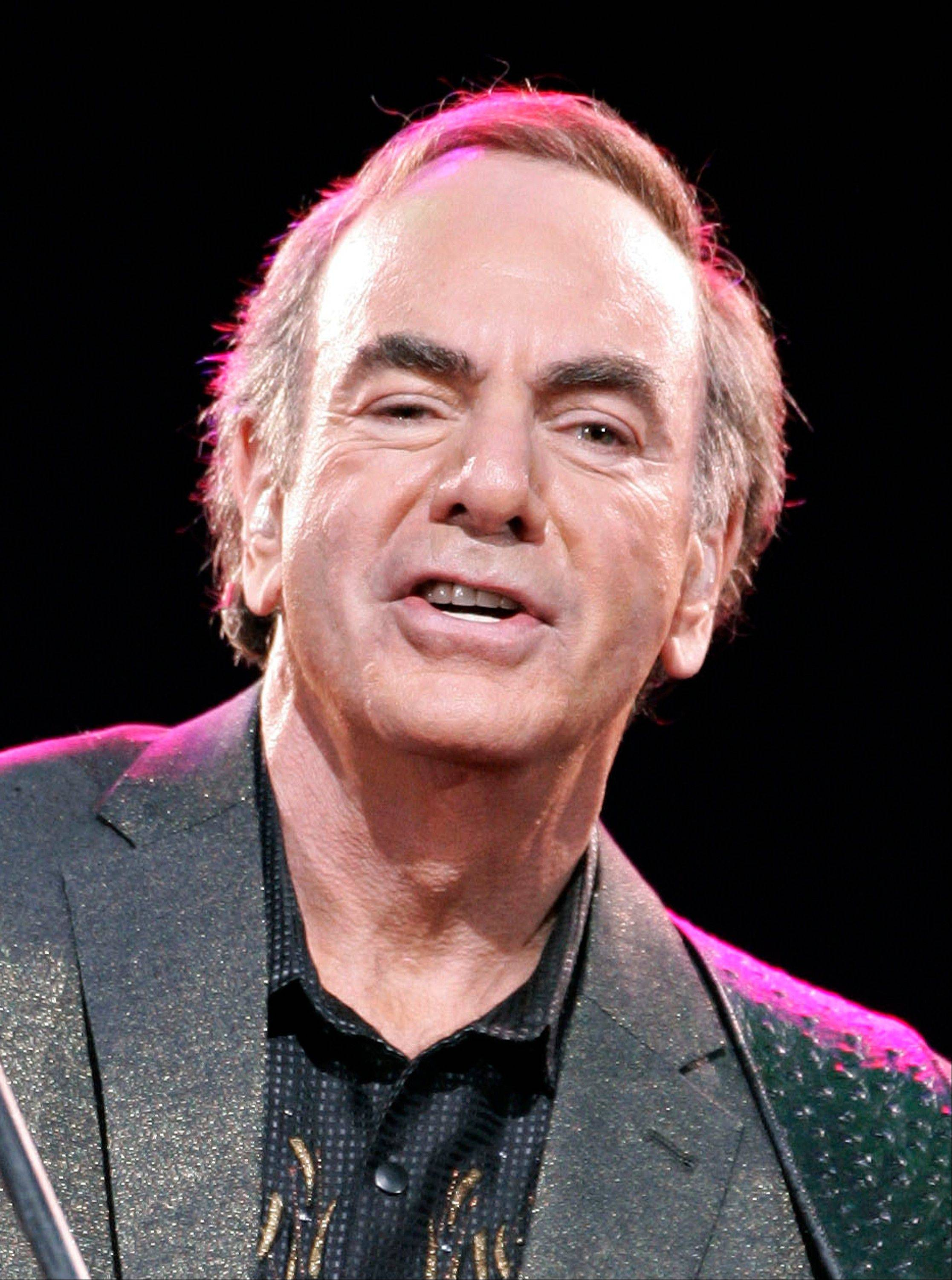 Singer Neil Diamond has been chosen to receive the Kennedy Center Honors this year along with some of the biggest names from Broadway, jazz, classical music and Hollywood.