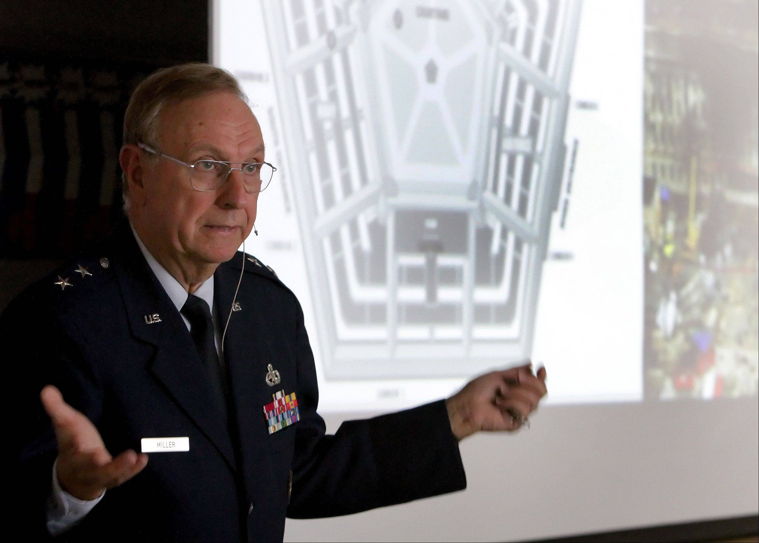 Retired Air Force Maj. Gen. James Miller was scheduled to attend a meeting early on the morning of Sept. 11 in the Pentagon. He was on the opposite side of the facility and unharmed when American Airlines Flight 77 crashed into the building.