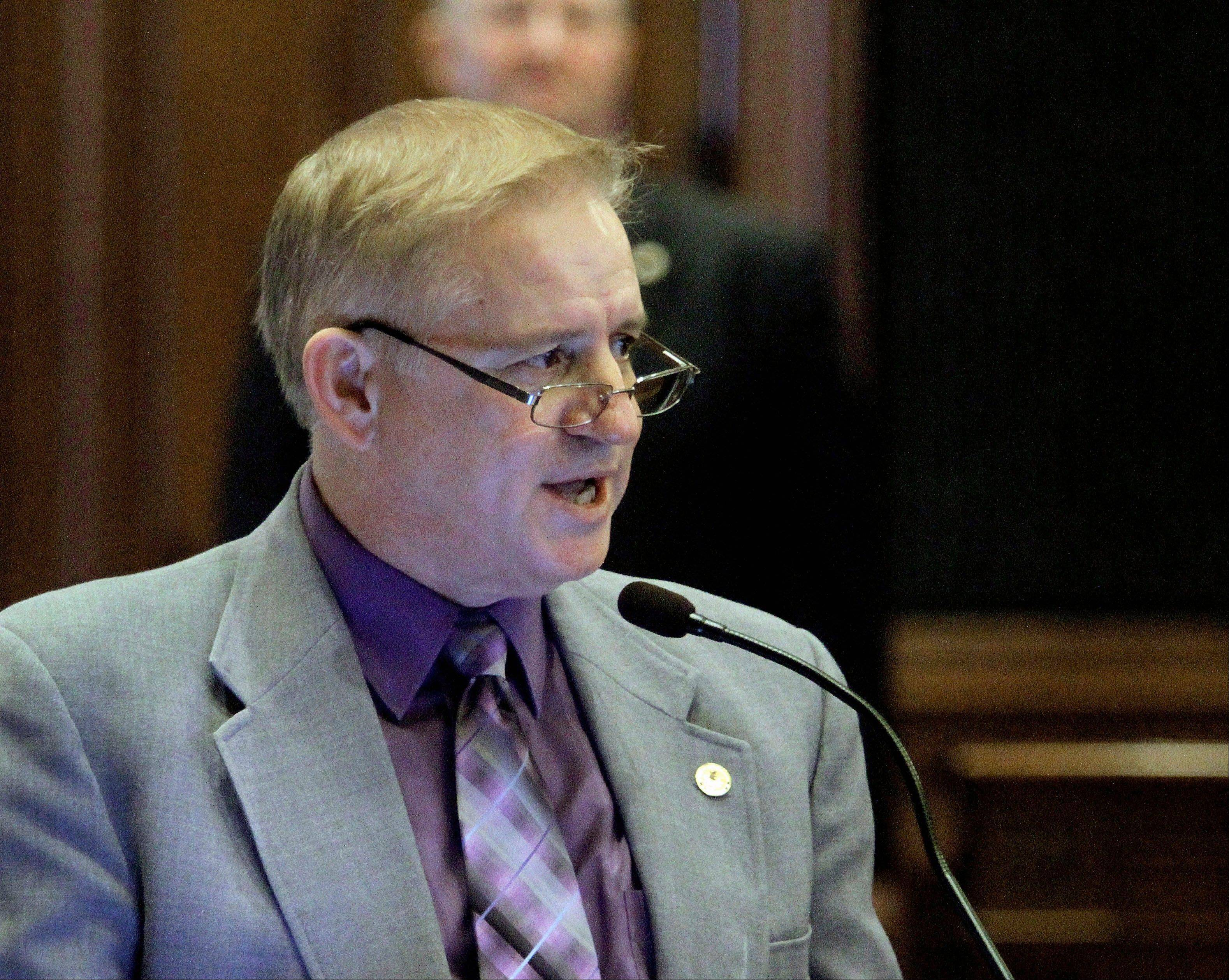 State Rep. Roger Eddy, a Hutsonville Republican, says that Illinois law gives regional school superintendents many responsibilities, such as background checks, building inspections and training bus drivers.
