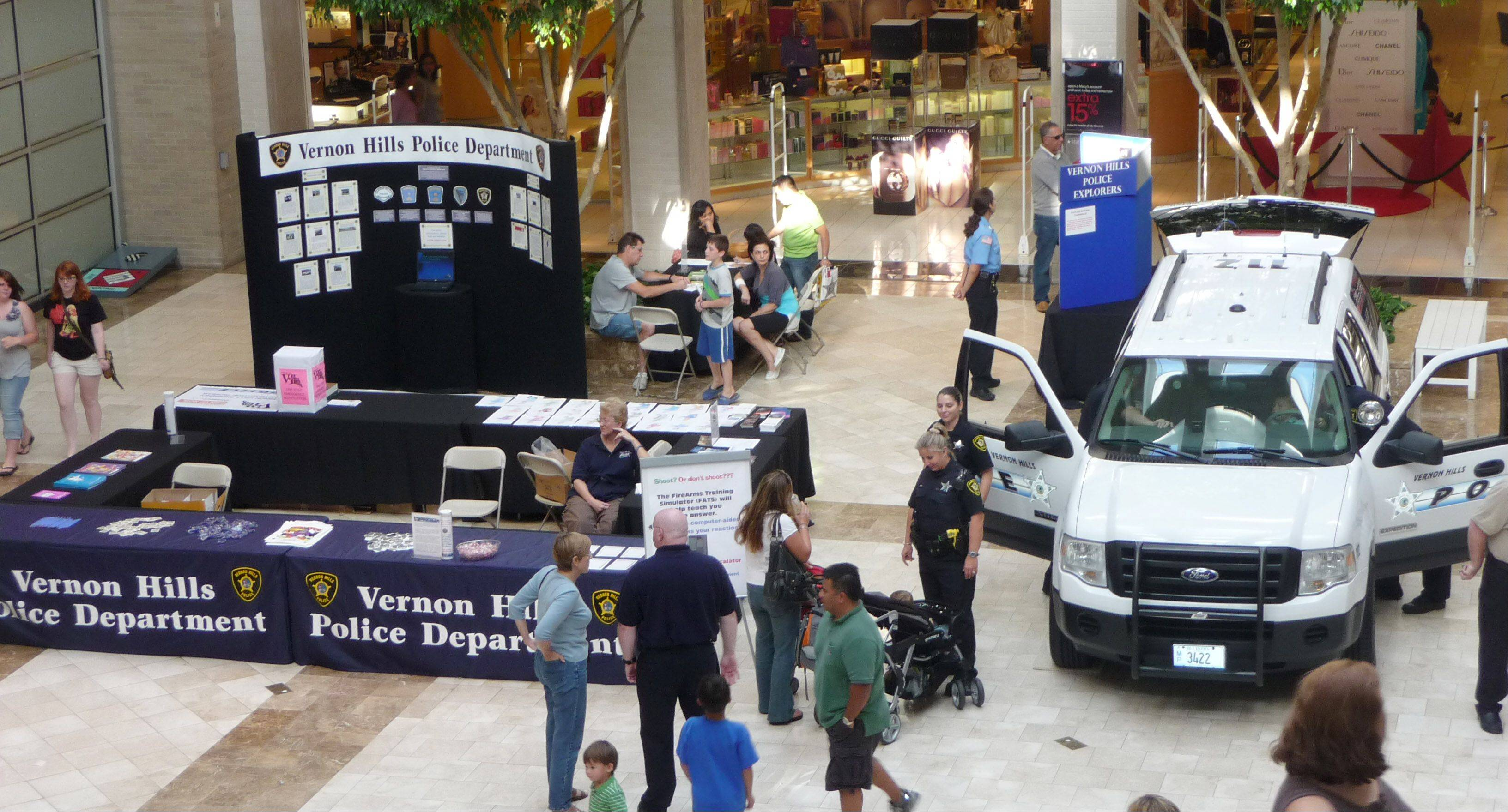 Several law enforcement agencies will participate in the 7th Annual Law Enforcement Exhibition Friday and Saturday, Sept. 10 and 11, at Westfield Hawthorn Mall in Vernon Hills.