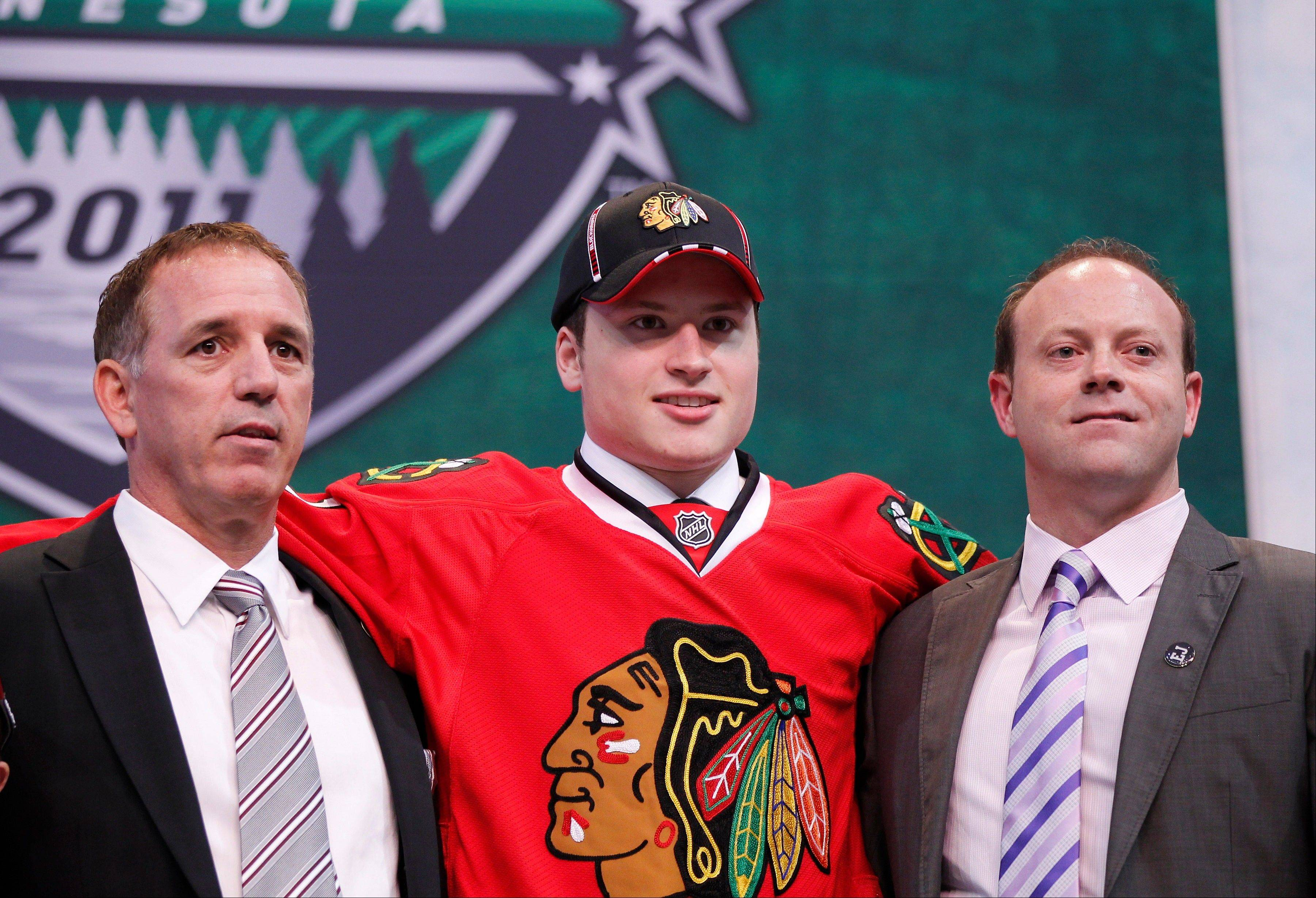 Blackhawks set roster for rookie tourney