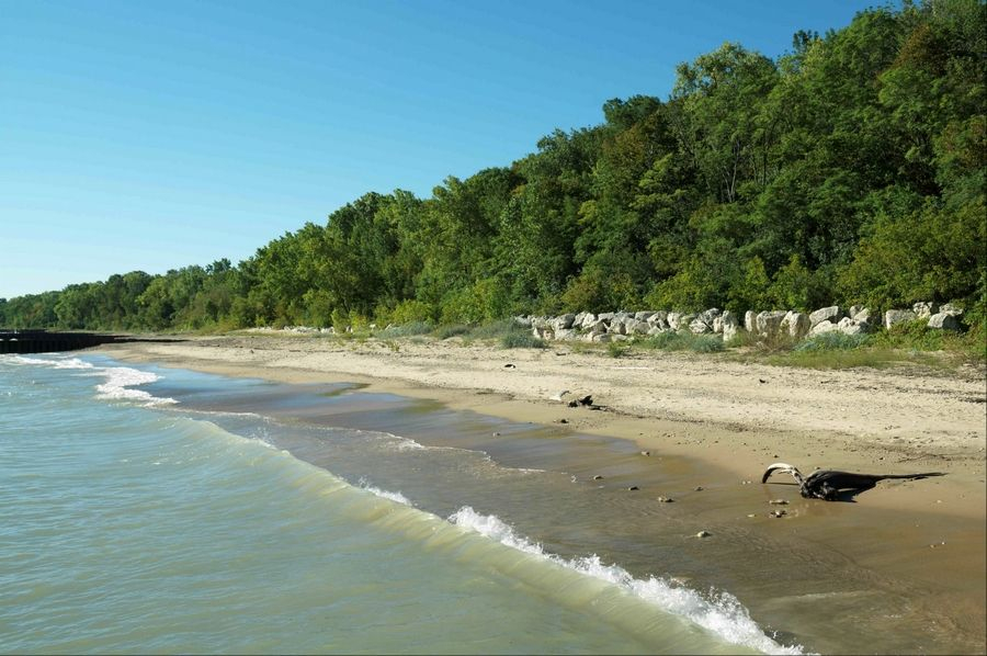 Situated on 77 acres of picturesque lakefront in Highland Park, the Openlands Lakeshore Preserve is part of the former Fort Sheridan military base.