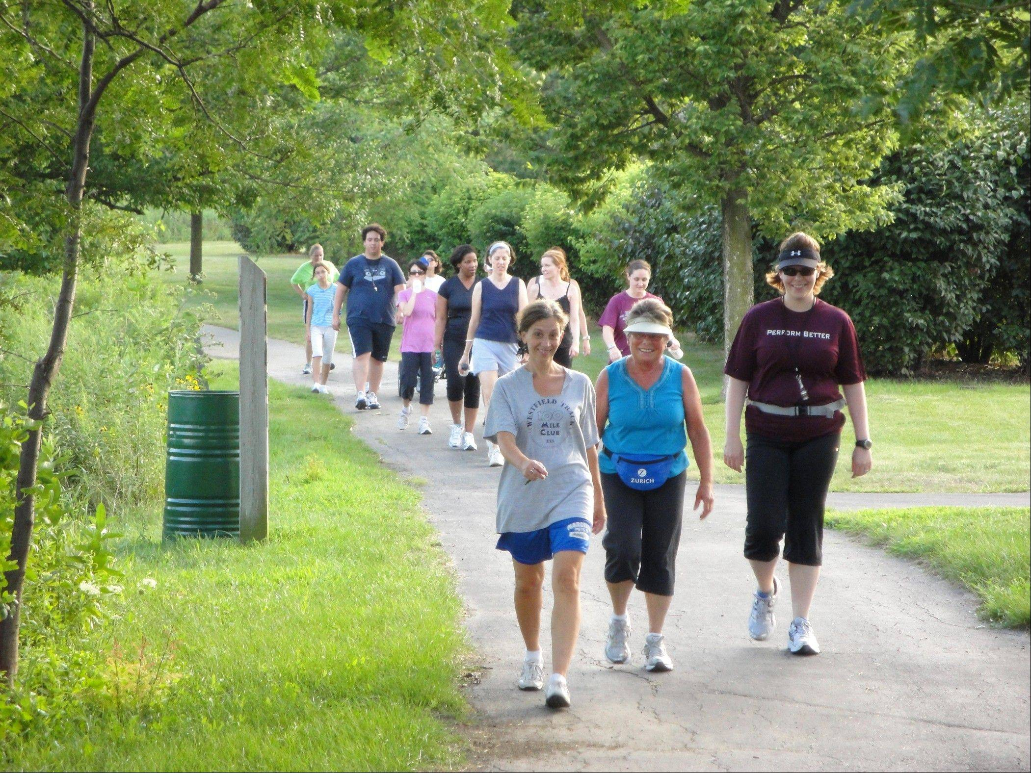 The Bloomingdale Park District's inaugural walk-to-run program helps participants safely train for a 5K.