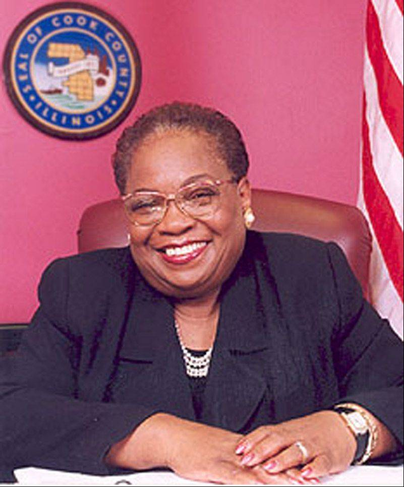 Longtime Cook County Board Commissioner Bobbie Steele received a nearly $150,000 pension in 2010 because her pension is based on her brief stint as board president in 2006 instead of the $85,000 salary she received as a commissioner.