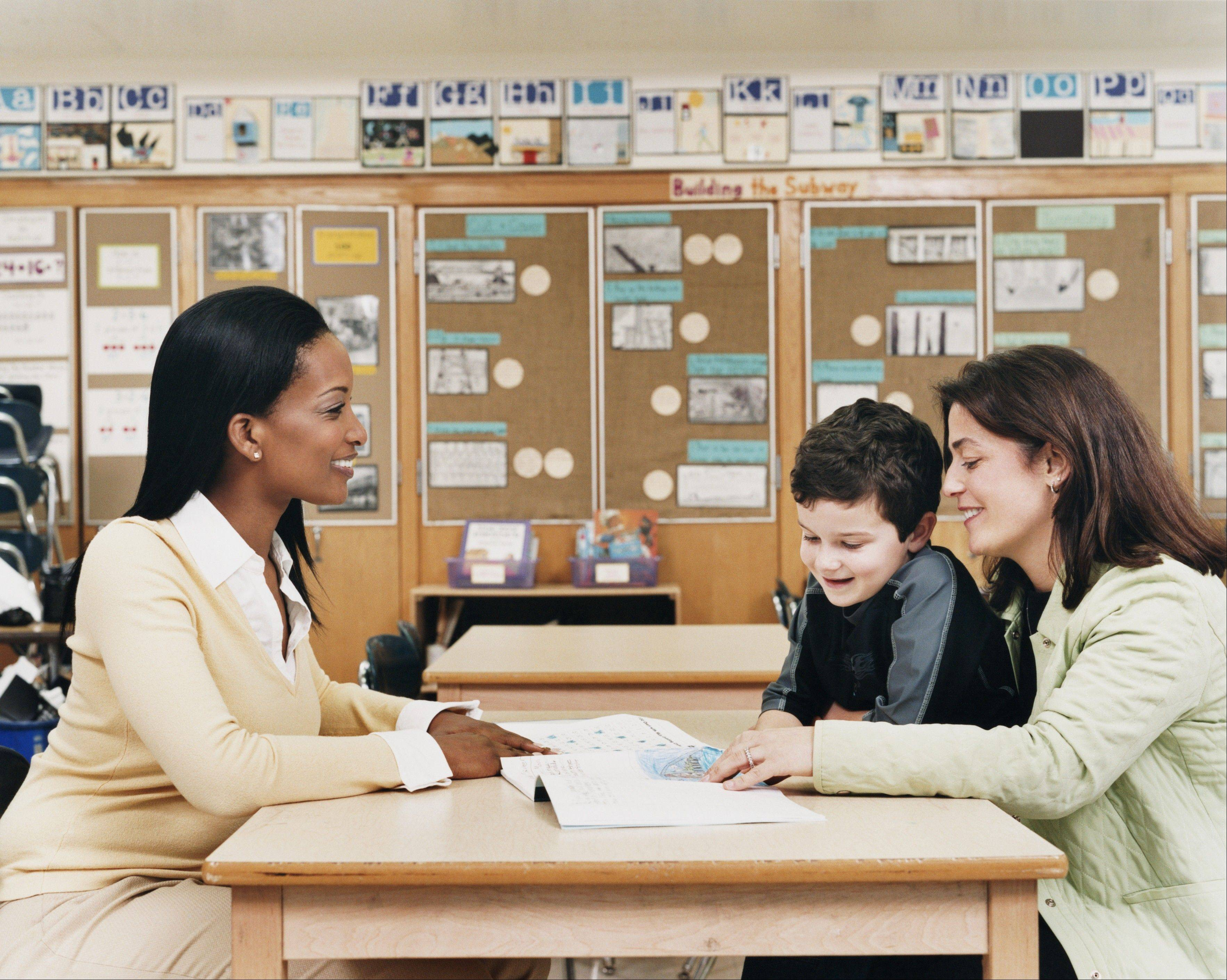 The first step to forging a good relationship with your child's teacher is to introduce yourself. Get to know them before issues arise.