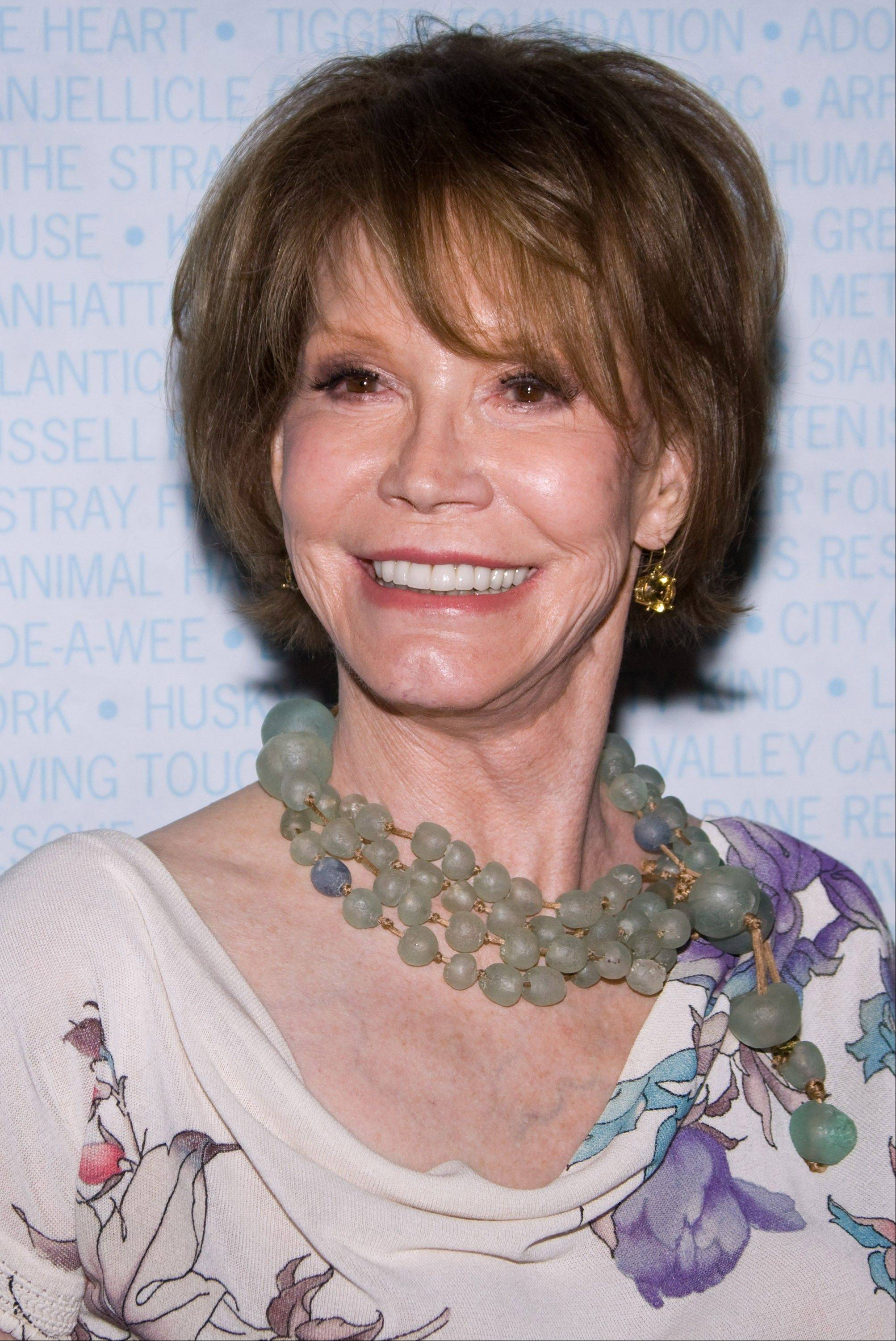 Associated Press File Photo Mary Tyler Moore will be honored with the Screen Actors Guild life achievement award at the 18th annual Awards, which will be held Jan. 29.