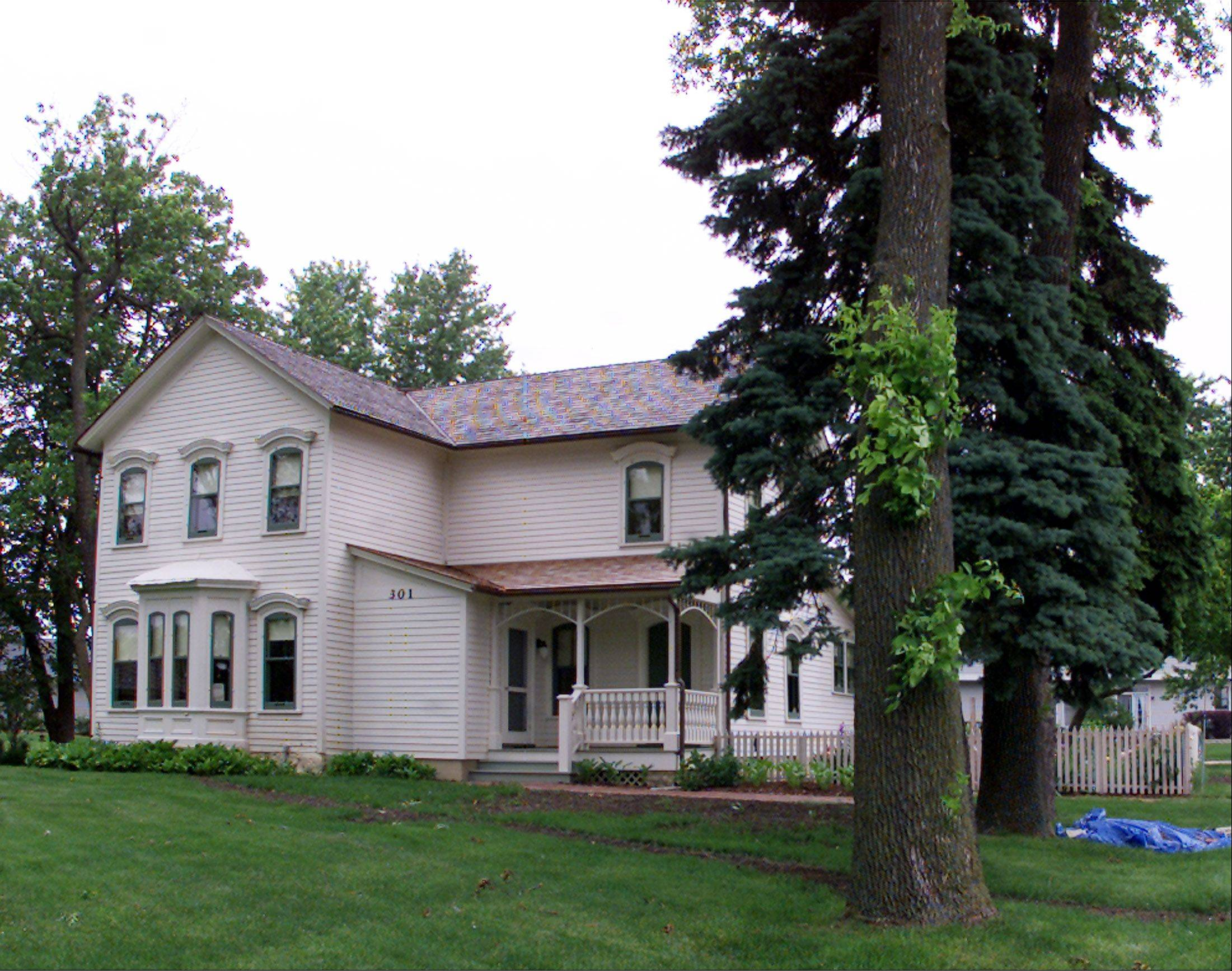 The Carol Stream Historical Society's annual Market Place on Saturday will feature tours of the historic farmhouse on Lies Road. .