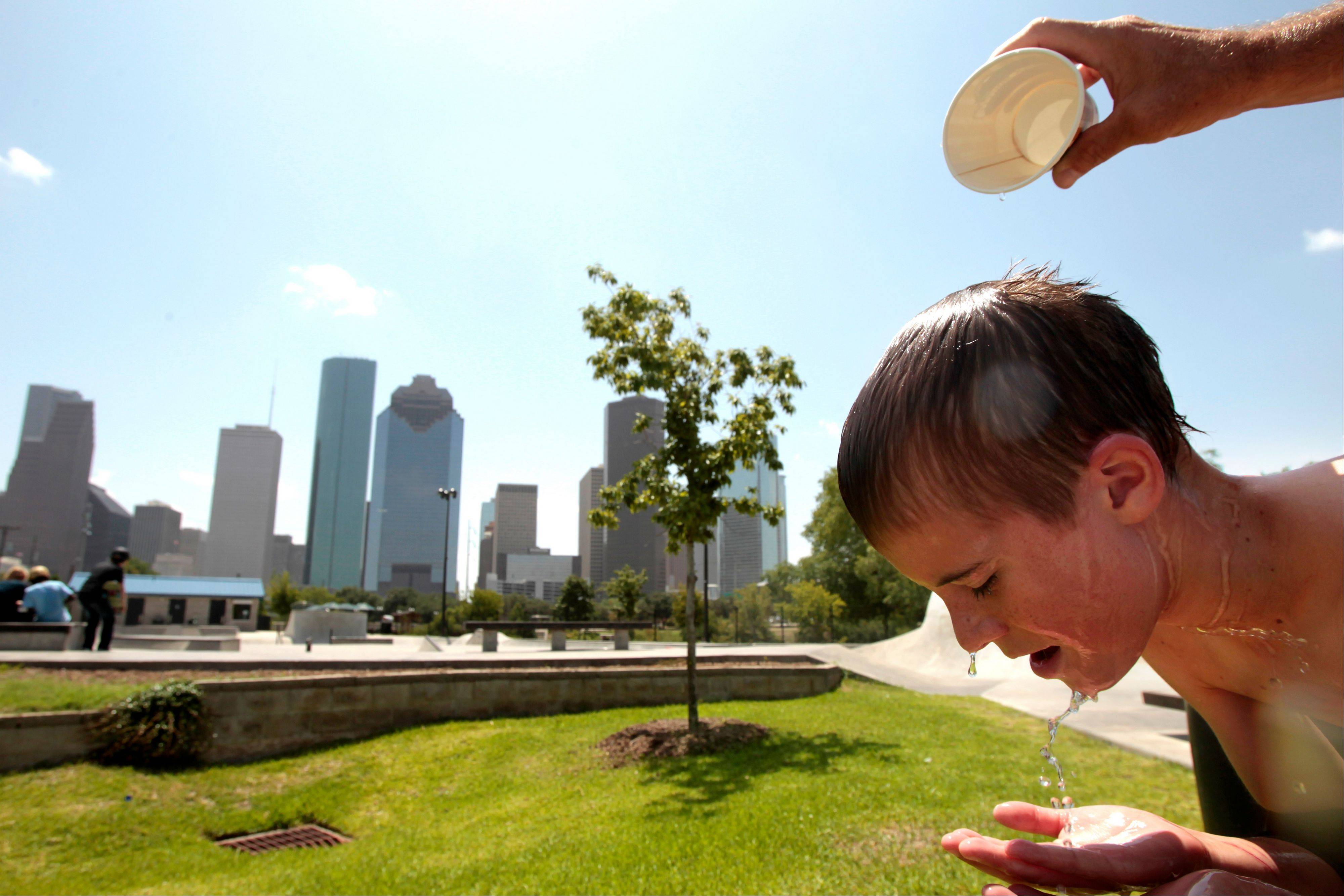 Texas just finished the hottest June through August on record in the U.S., the National Weather Service said Thursday.